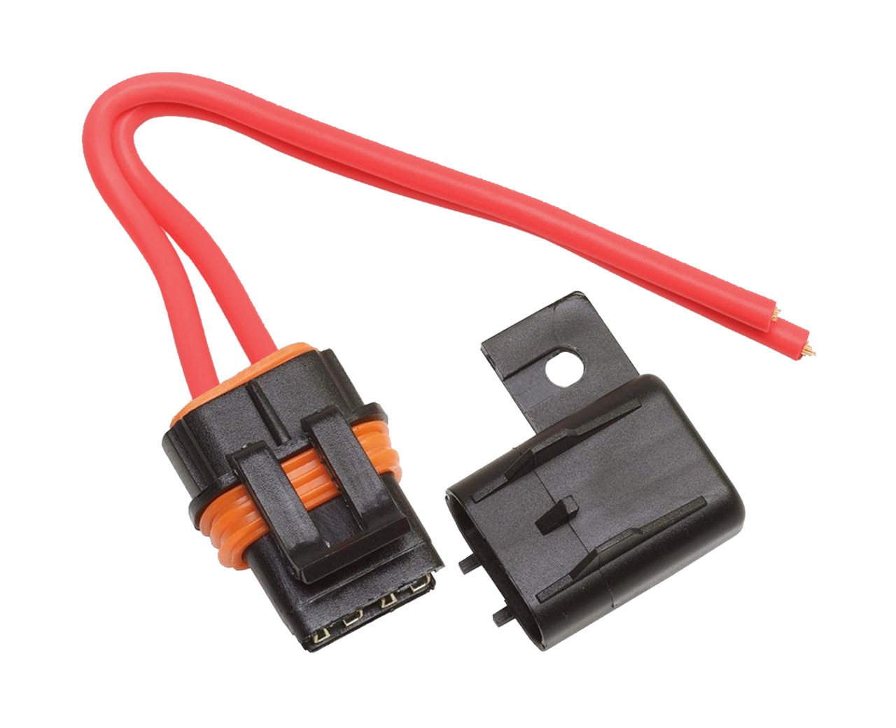 small resolution of atc ato fuse holder up to a 40 amp fuse 10 awg leadwaterproof maxi fuse