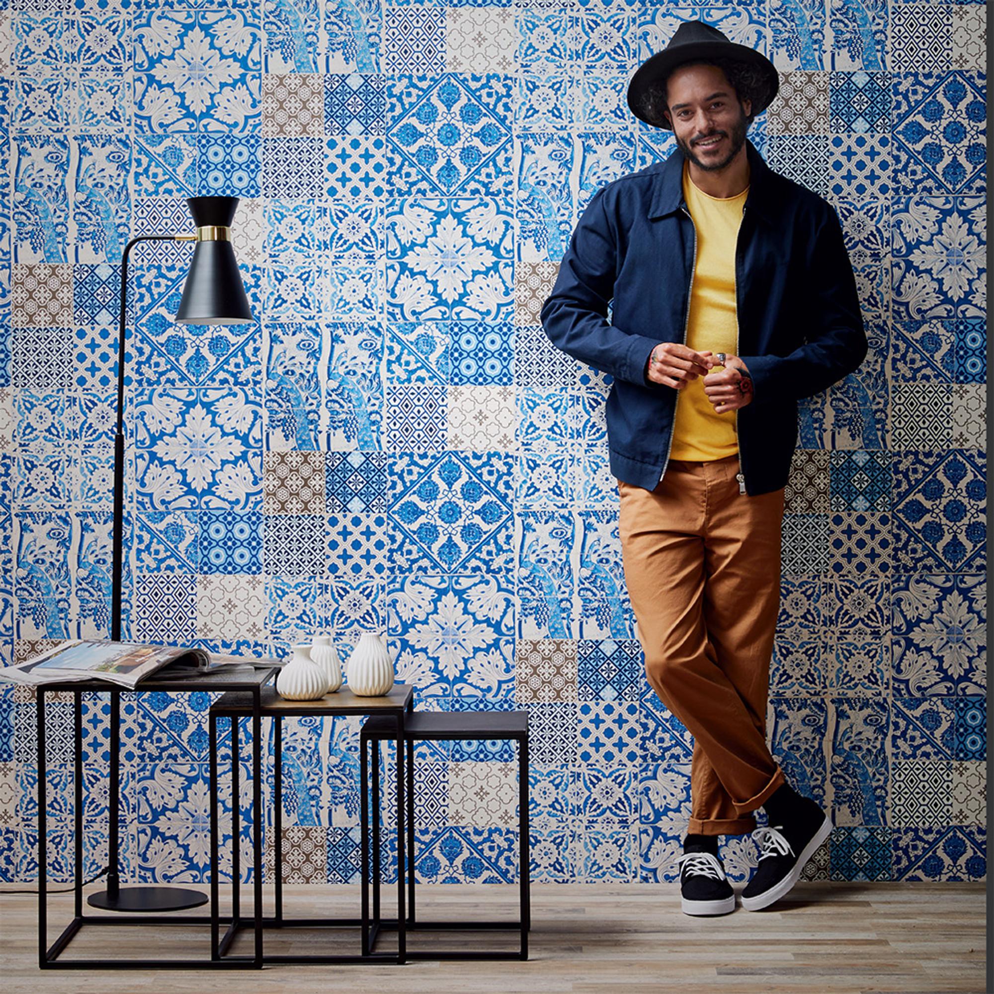 dutch tile blue