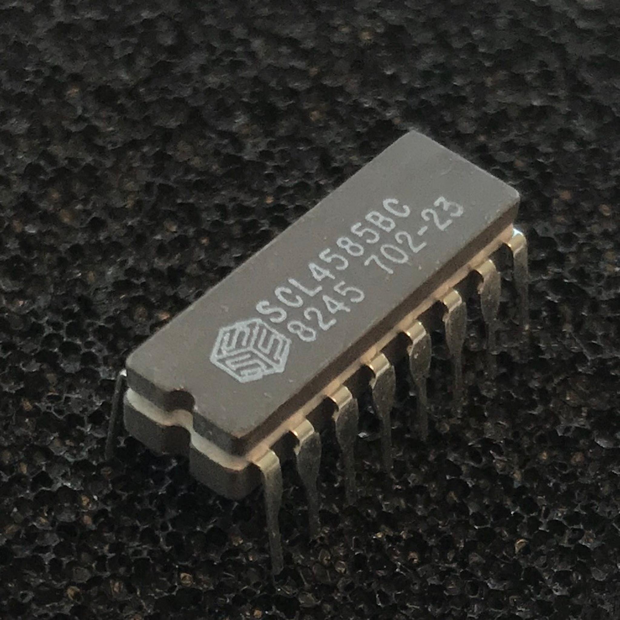 hight resolution of scl4585bc cmos 4 bit magnitude comparator cd4585 ceramic cerdip cdip 16