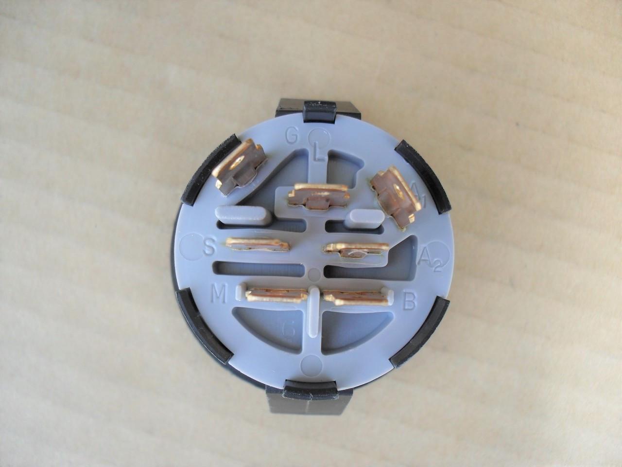 medium resolution of  delta lawn mower ignition starter switch 690047p 6900 47p