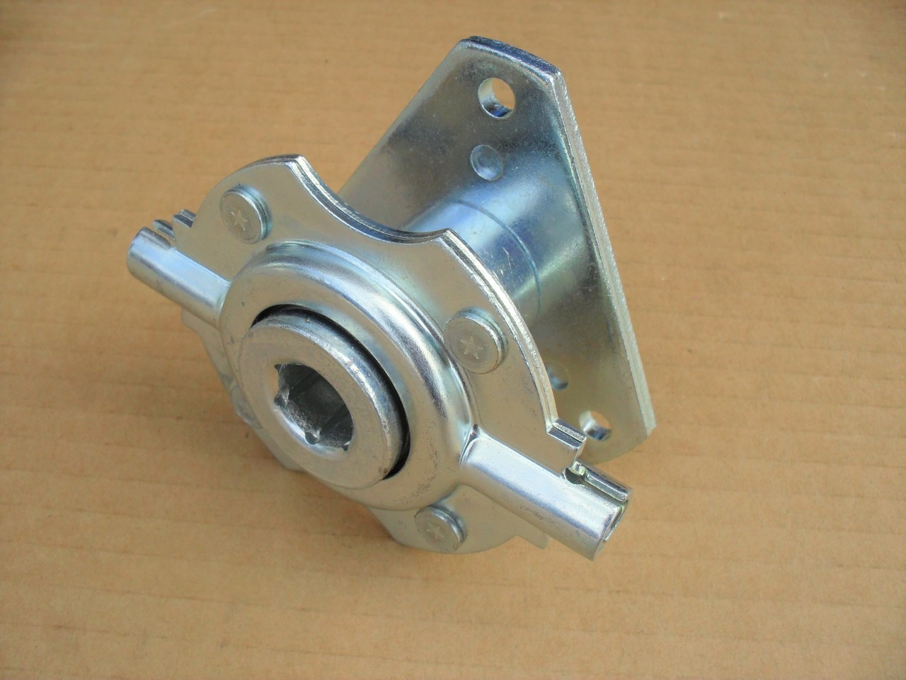 small resolution of drive disc friction wheel trunion bearing hub assembly for murray simplicity snapper m924e