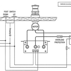 Windlass Wiring Diagram How To Draw In Visio Lofrans Tigres Marine 12vdc 1500w Lw415an For 3 Terminal Motors