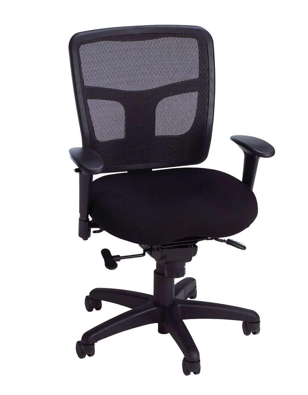 Task Chairs With Arms Ki Impress Ultra Mesh Task Chair With Adjustable T Arms