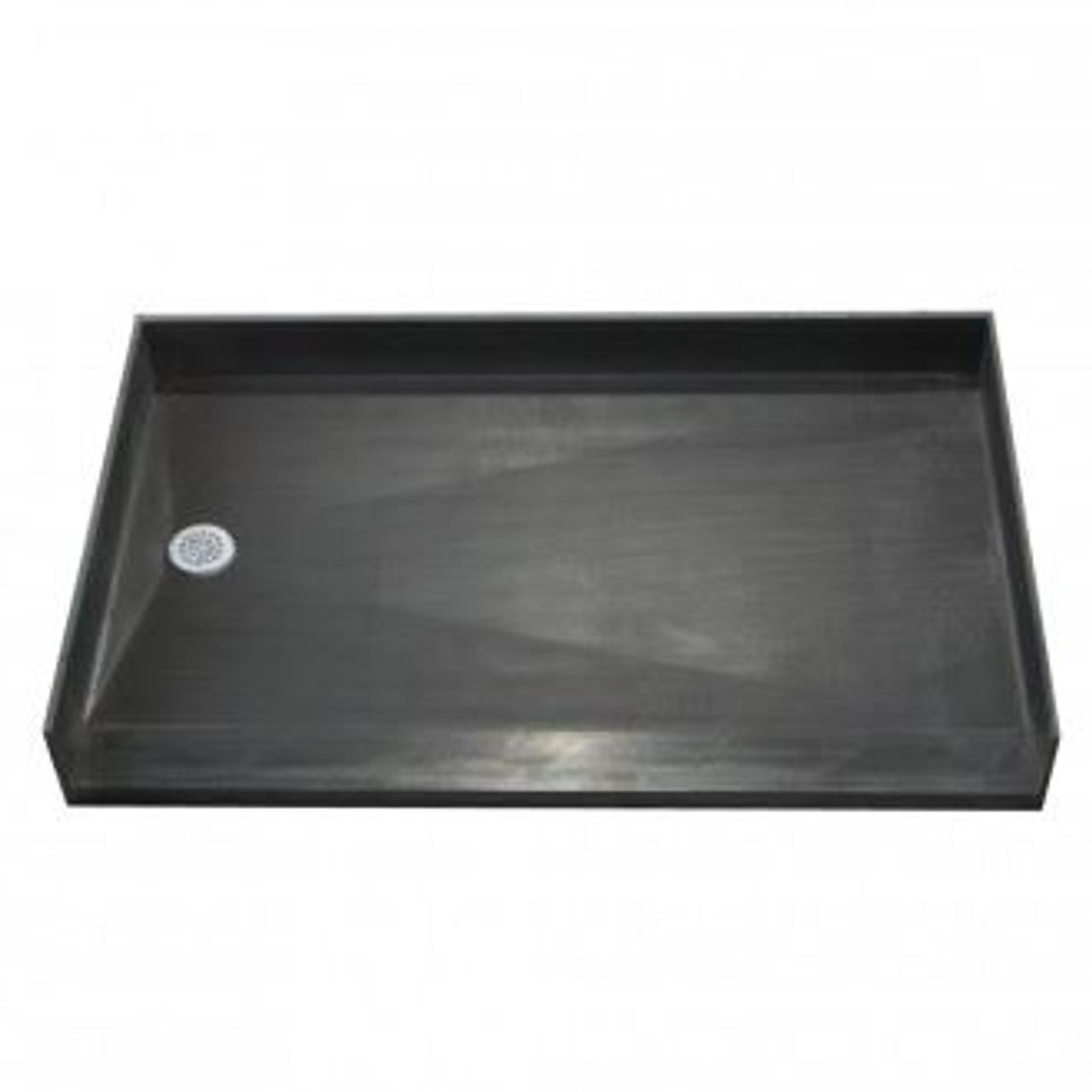 34 x 60 shower pan zero entry shower pan by tile redi