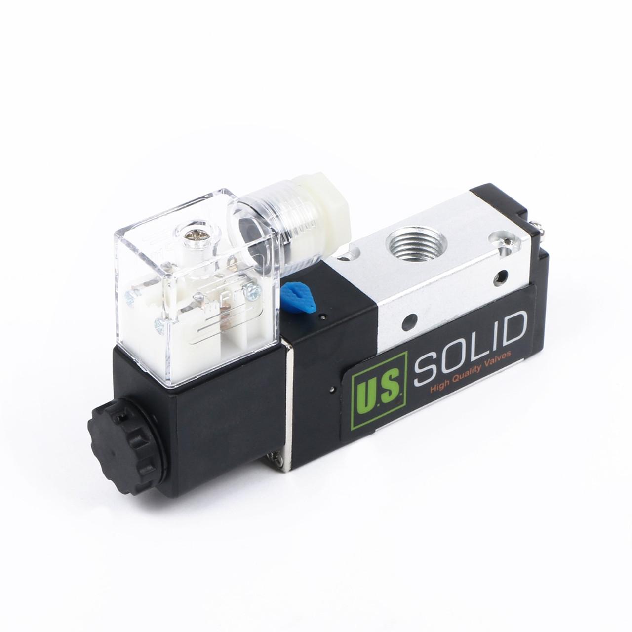 ussolid 1 4 3 way 2 position pneumatic electric solenoid valve dc  [ 1200 x 1200 Pixel ]