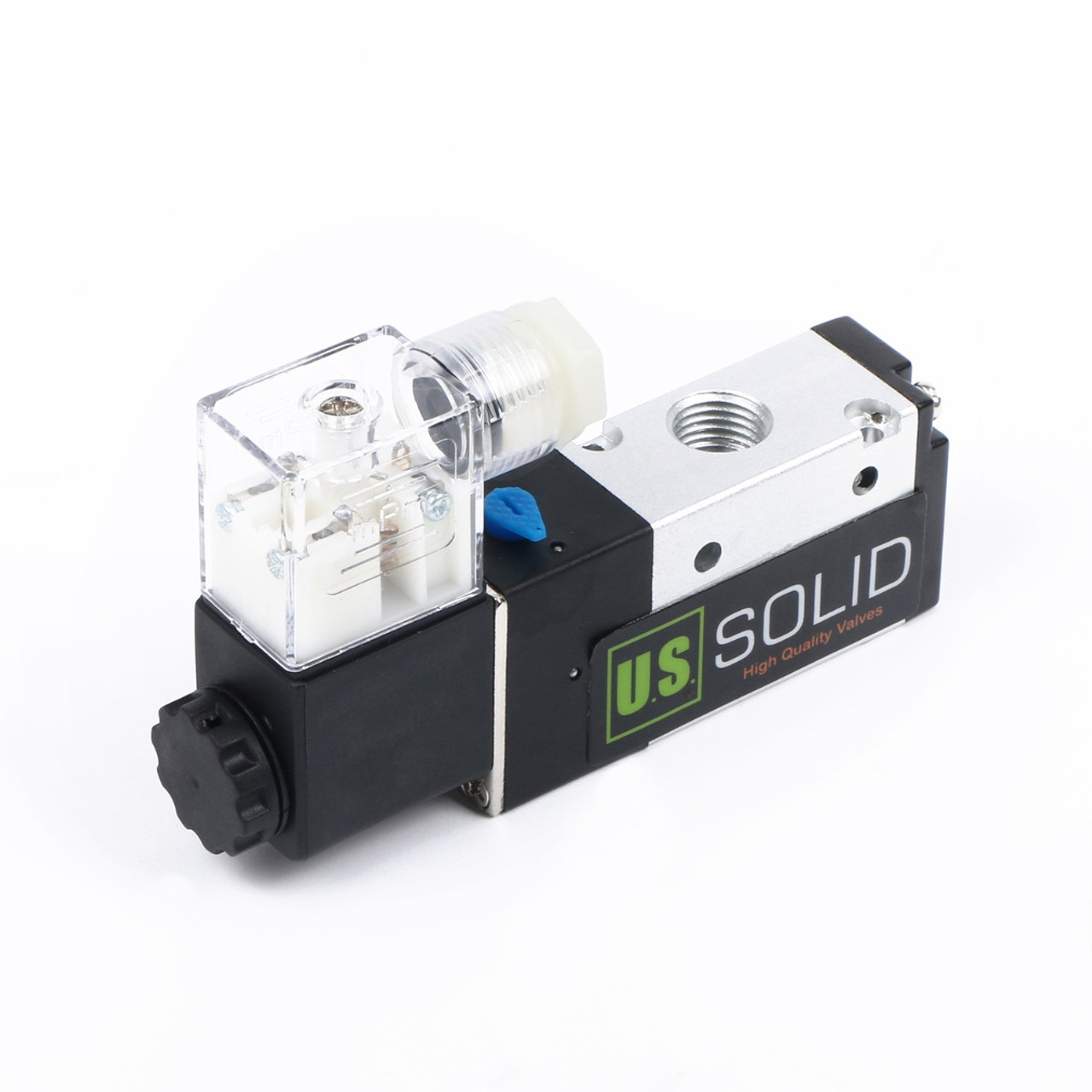 small resolution of ussolid 1 4 3 way 2 position pneumatic electric solenoid valve dc