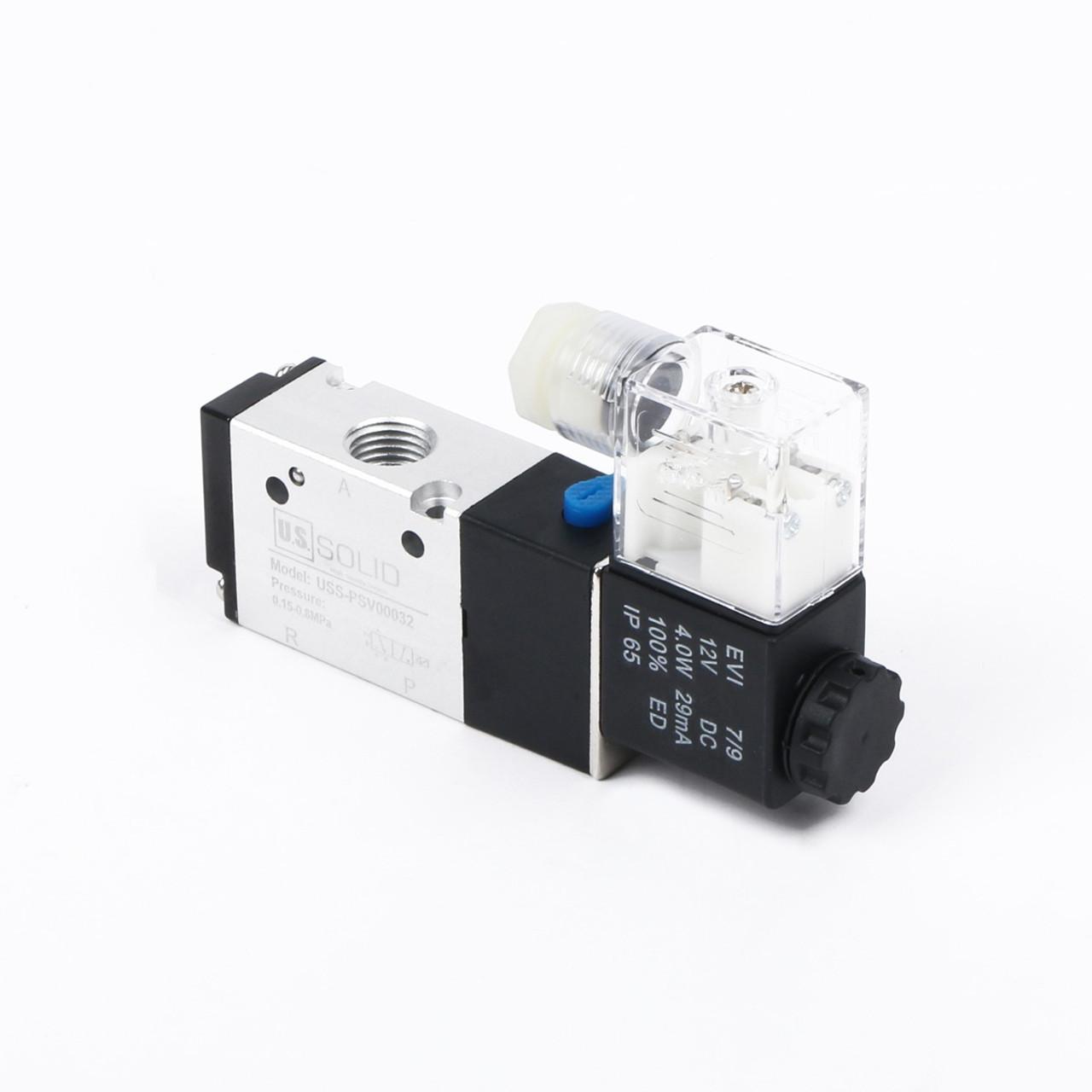 medium resolution of ussolid 1 4 3 way 2 position pneumatic electric solenoid valve dc
