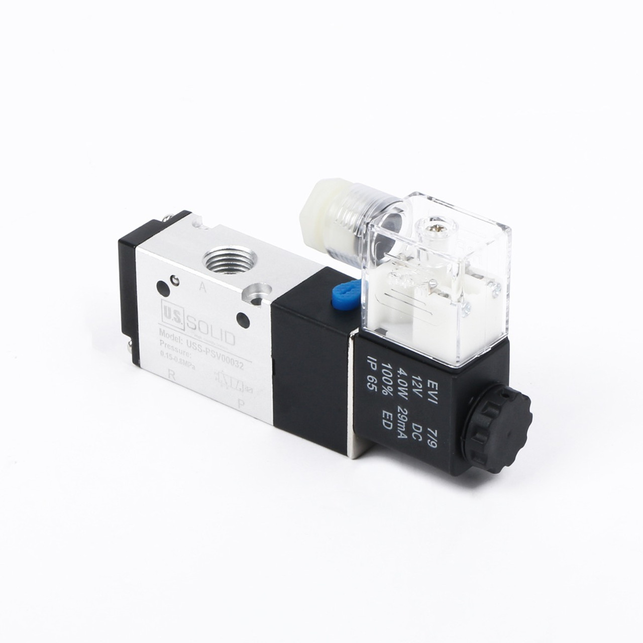 hight resolution of ussolid 1 4 3 way 2 position pneumatic electric solenoid valve dc