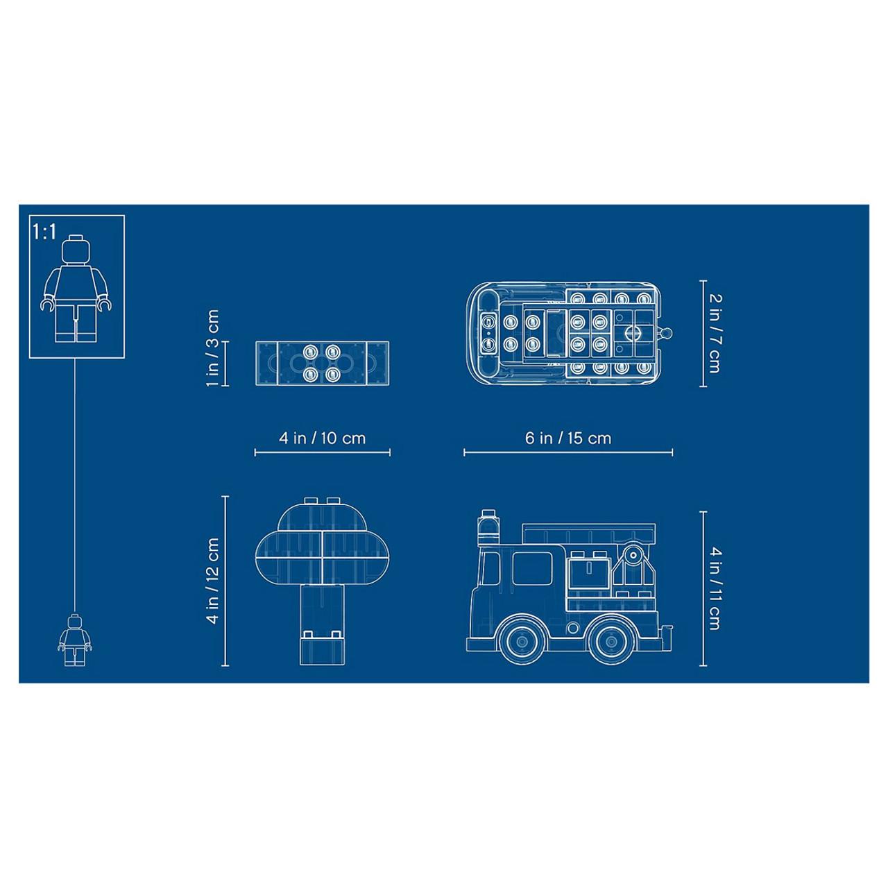 lego duplo 10901 fire truck [ 1200 x 1200 Pixel ]