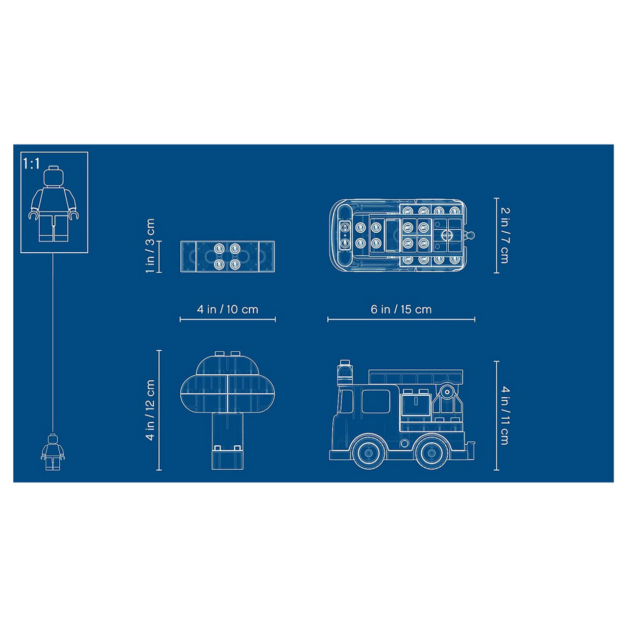 medium resolution of  lego duplo 10901 fire truck