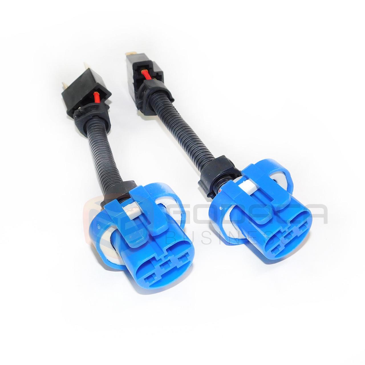 small resolution of 2x h4 9003 to 9007 hb5 headlight wiring conversion adapter plug play godaca llc