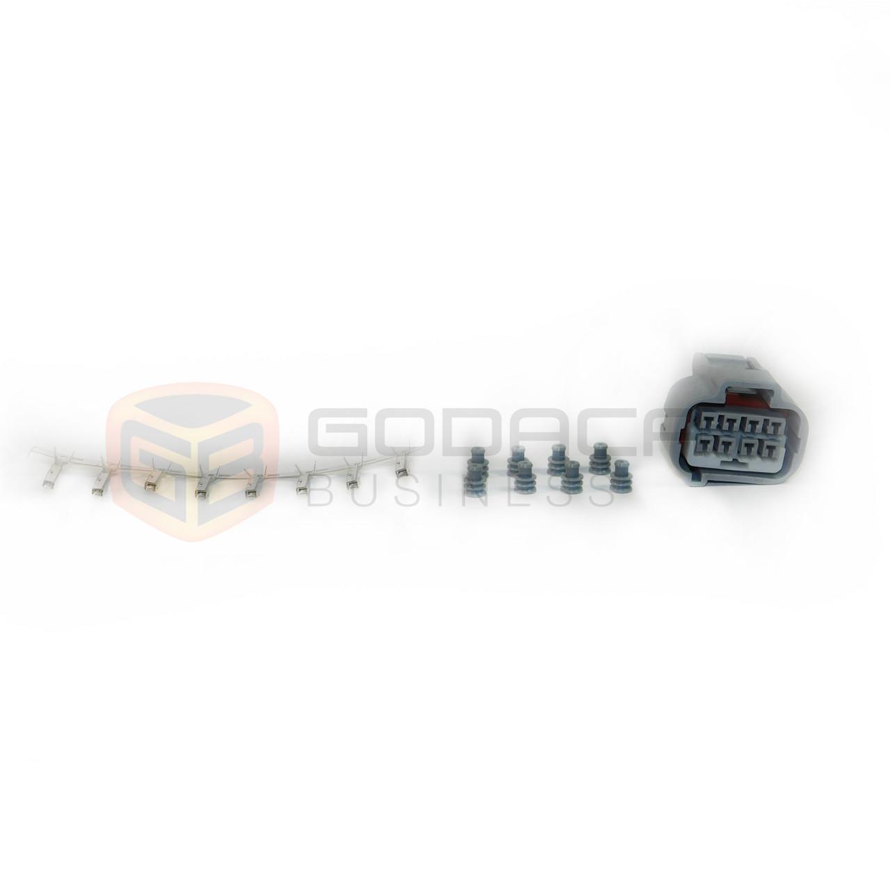medium resolution of 1x connector for toyota supra mk4 fusebox 90980 10897 w out wire godaca llc