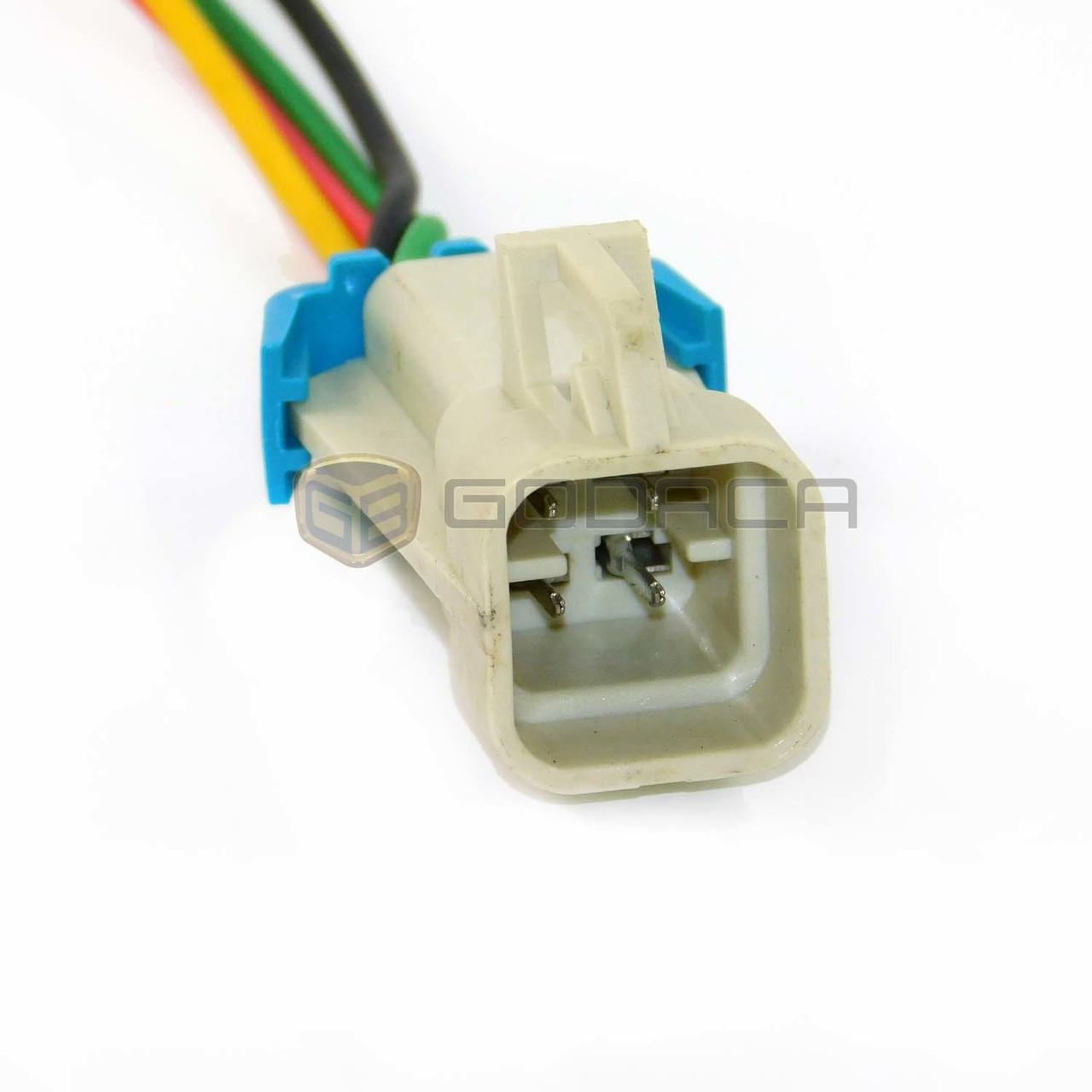 1x 4 way repair connector for gm fuel pump oxygen sensor ls1 godaca llc  [ 1280 x 1280 Pixel ]