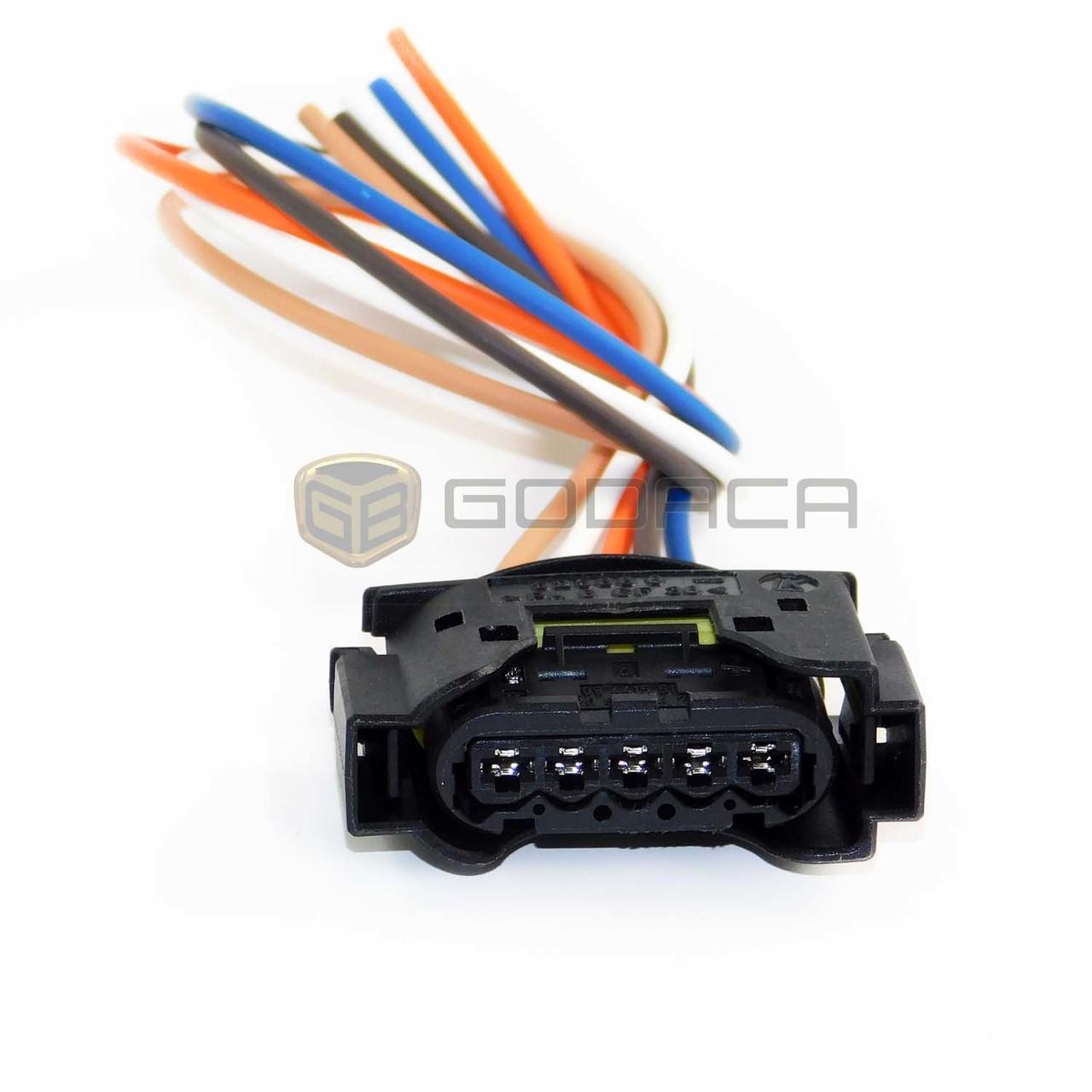 hight resolution of 1x connector 5 way 5 pin for mercedes benz preheater a 2205450429 godaca llc