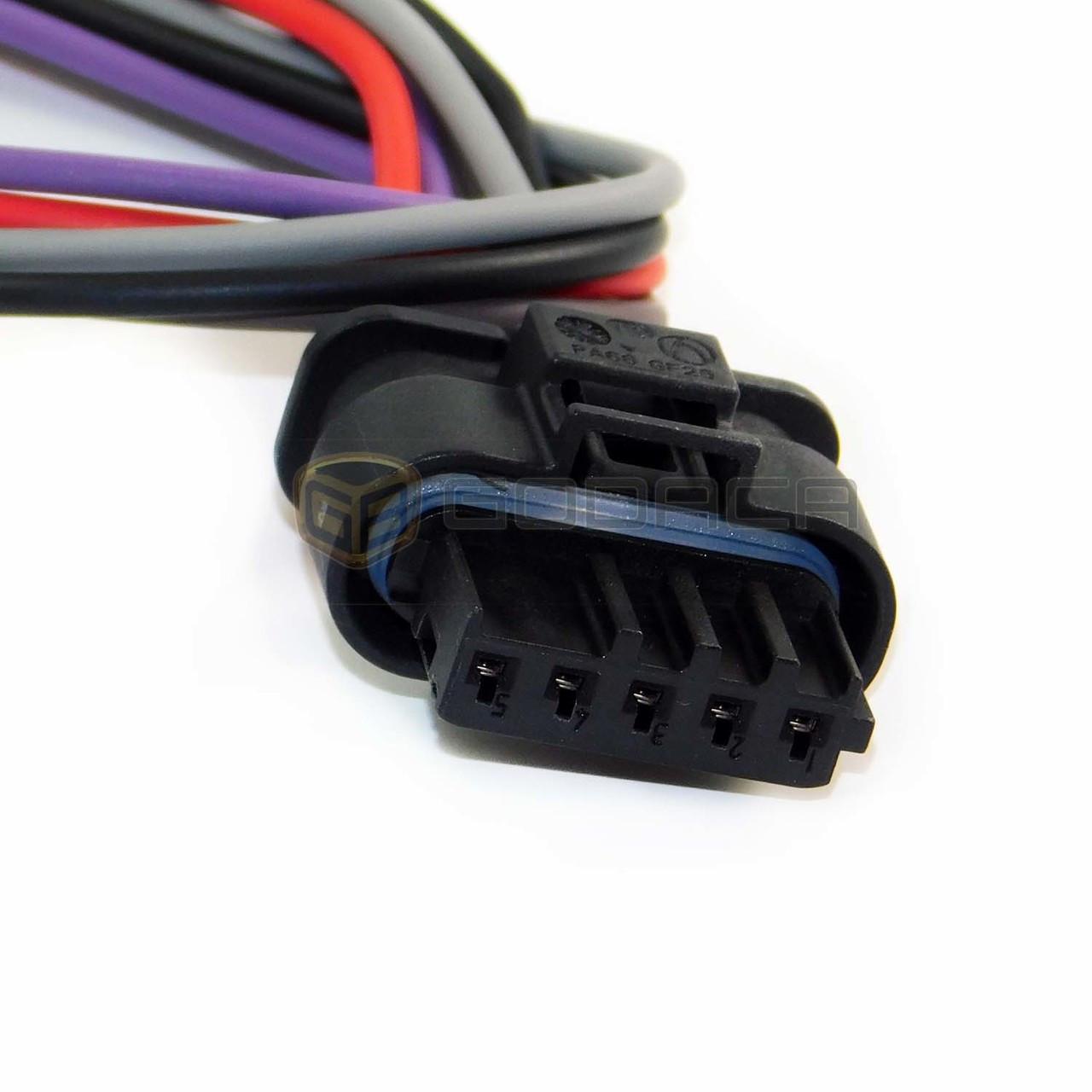 medium resolution of 1x connector wiring harness 5 pin 5 way for bmw godaca llc bmw wiring harness connector bmw wiring harness connector
