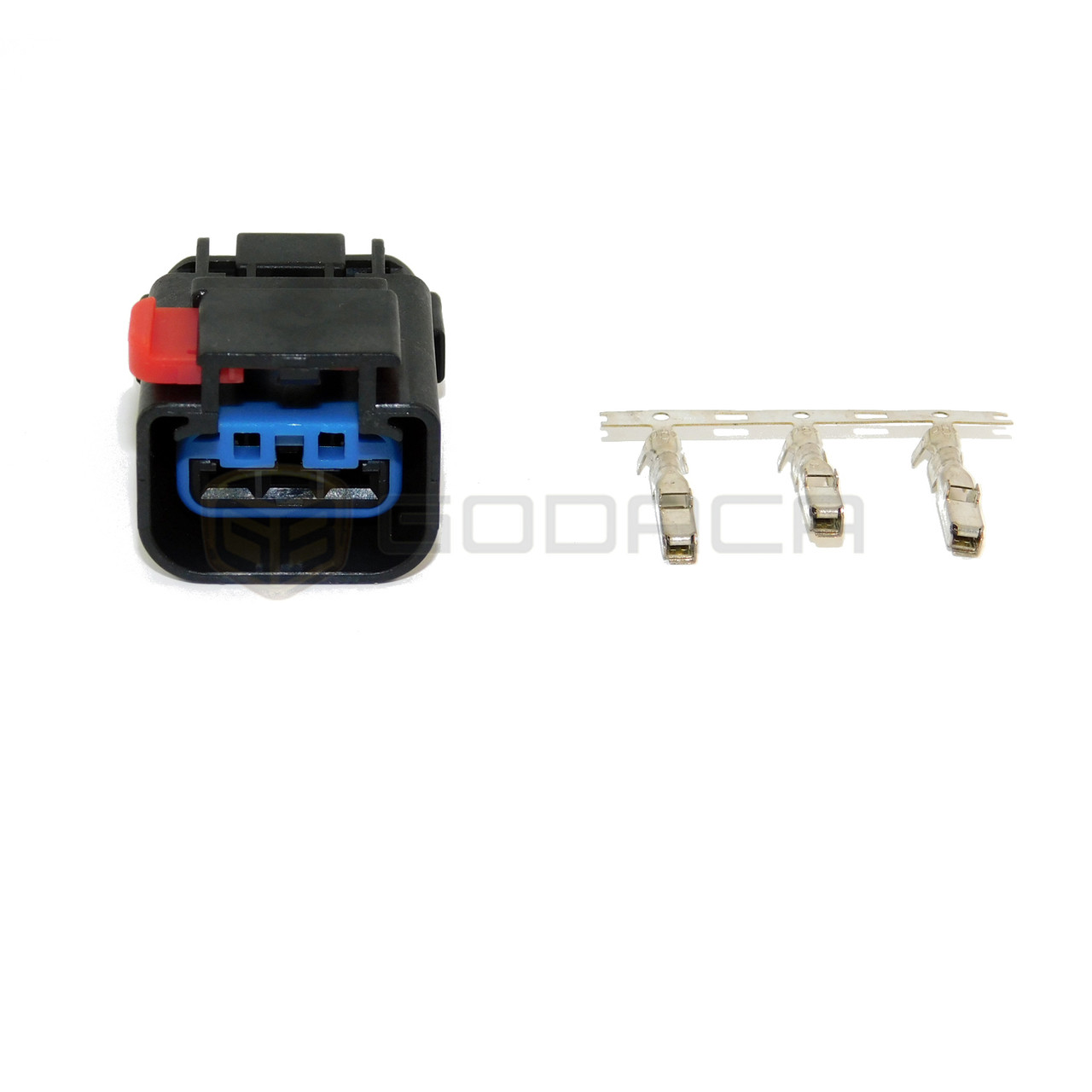 medium resolution of 1x connector 3 way for cps ignition coil pt5726 1p1080 dodge w out wire godaca llc