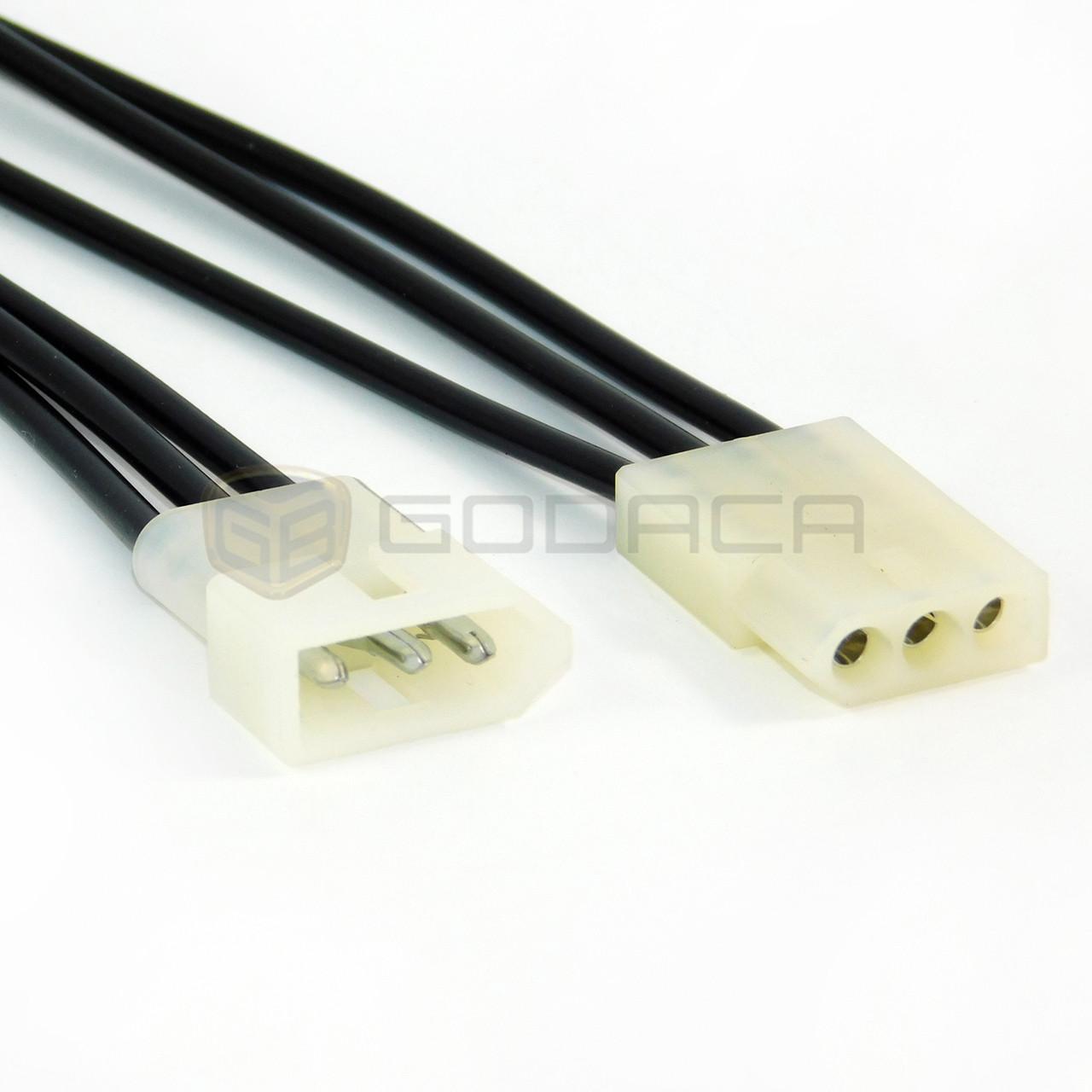 medium resolution of 1x connector female and male 3 way molex for motorcycle wiring loom godaca llc