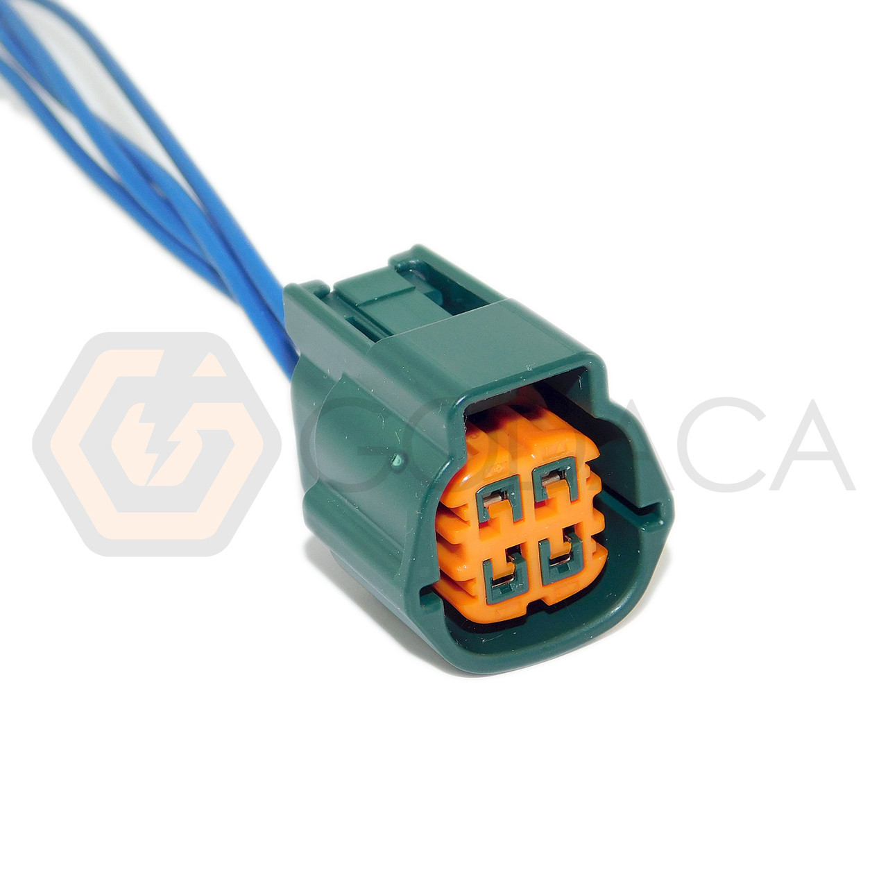 small resolution of 1x connector 4 pin 4 way for o2 sensor subaru nissan rs04fg godaca llc