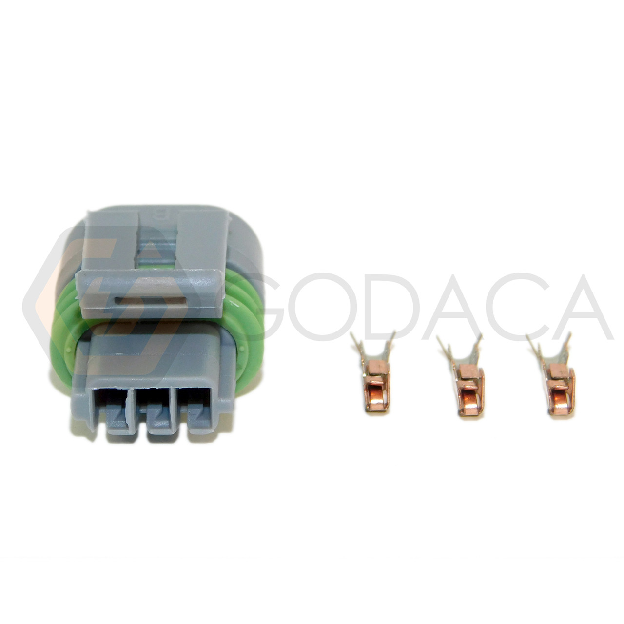 1x connector 3 way for gm camshaft position sensor cps pt148 w out wire godaca llc  [ 1280 x 1280 Pixel ]