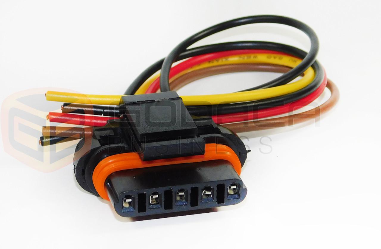 medium resolution of connector pigtail repair ford 7 3 powerstroke diesel 7 3l valve cover harness godaca llc