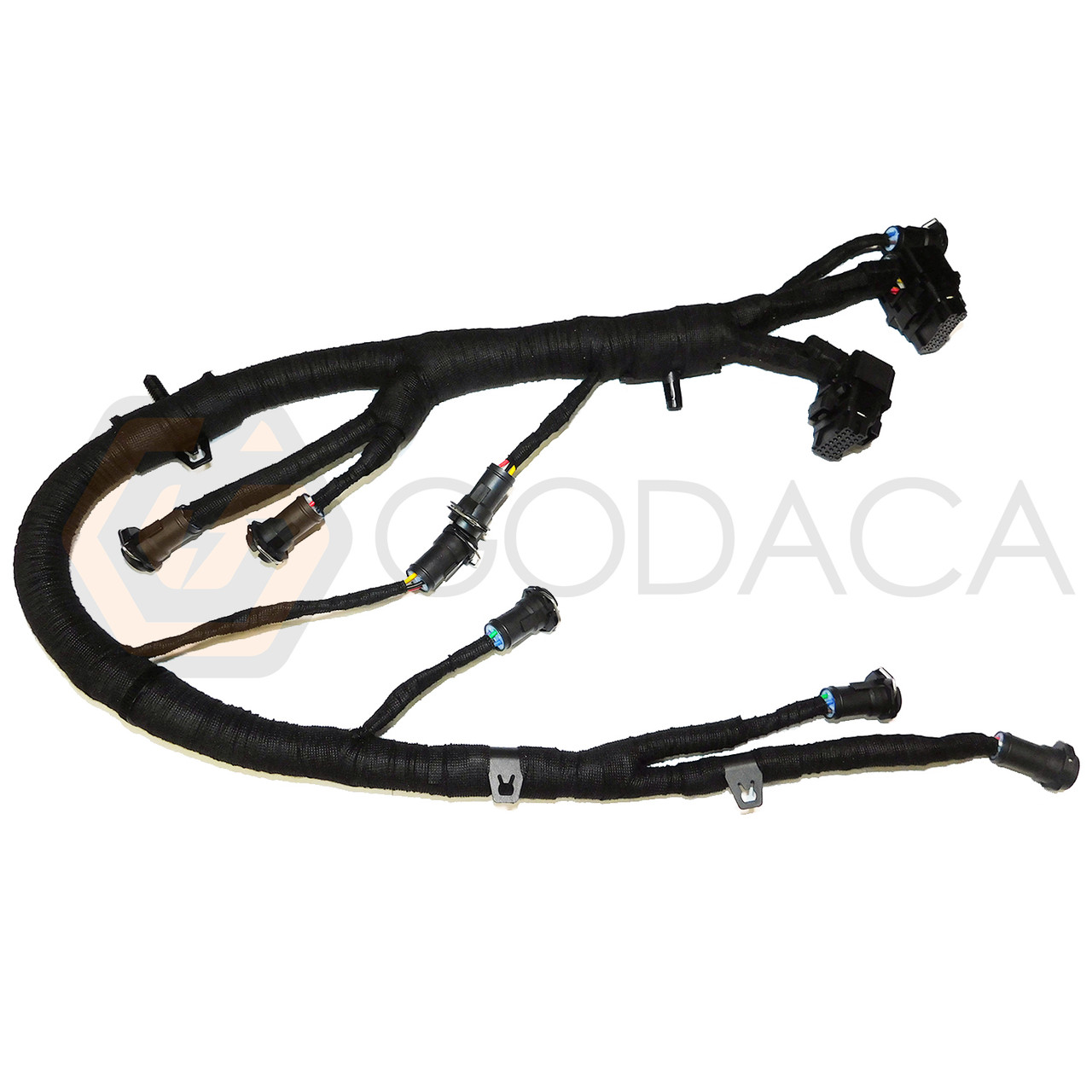 hight resolution of 1x wiring harness for fuel injector ford diesel powerstroke 6 0 5c3z 9d930 a godaca llc