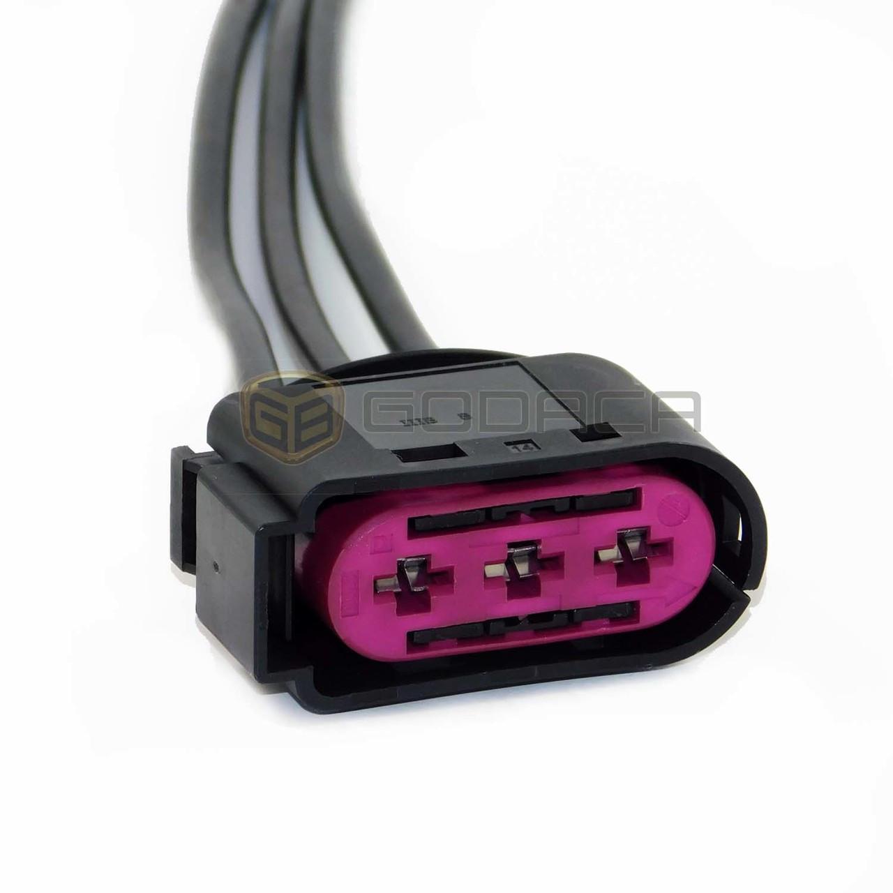 fuse box connector 3 pin plug for vw beetle bora jetta golf mk4 audifuse box connector [ 1280 x 1280 Pixel ]