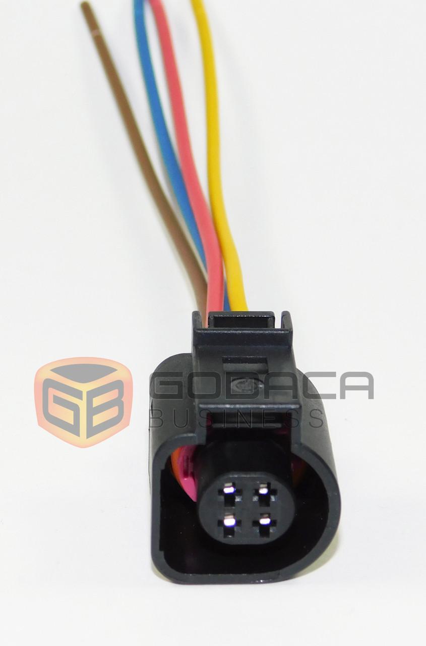 hight resolution of 1x connector 4 way for audi range control headlight 4b0 973 712 godaca llc