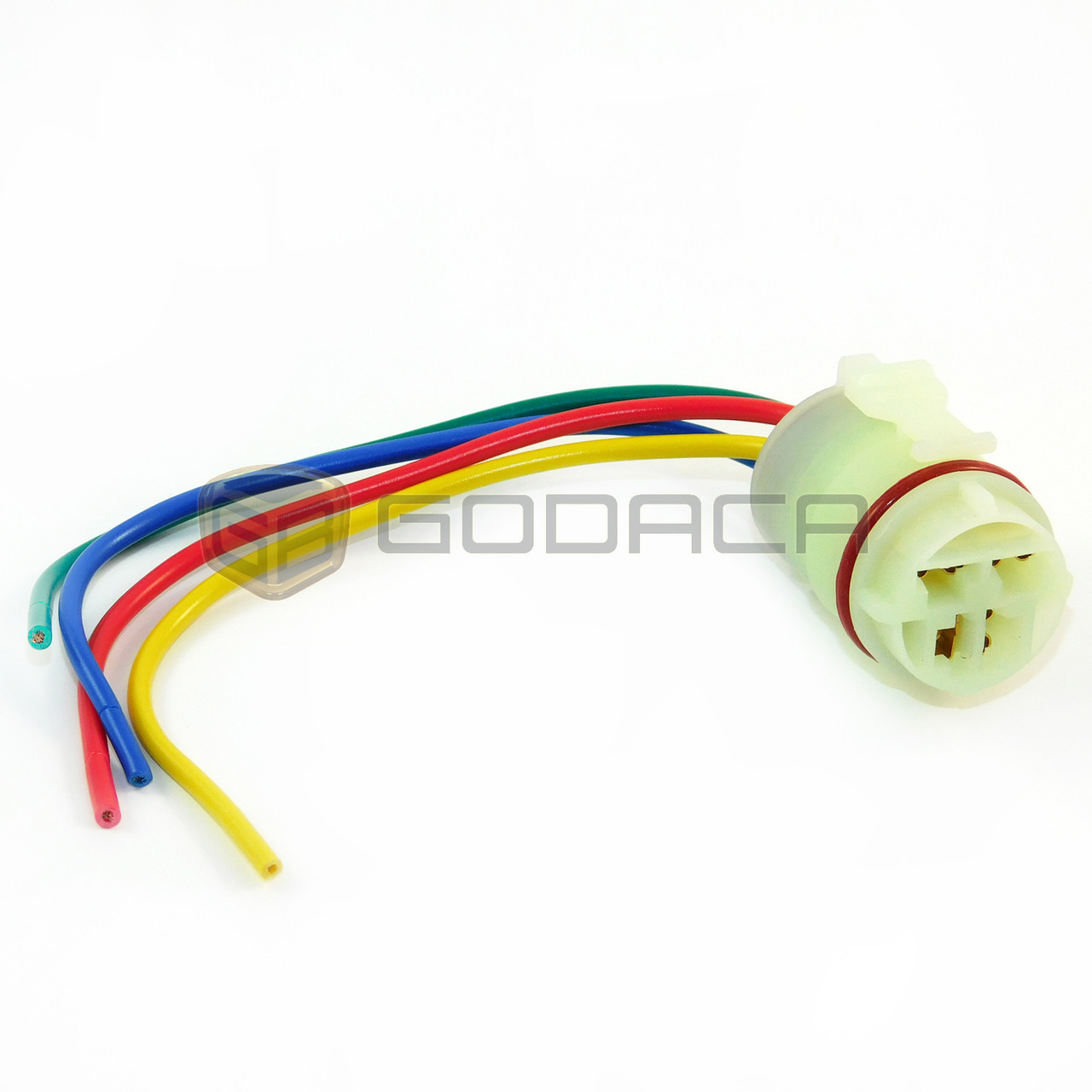 small resolution of 1 x 4 way connector alternator repair plug harness universal for gm gm wiring harness repair