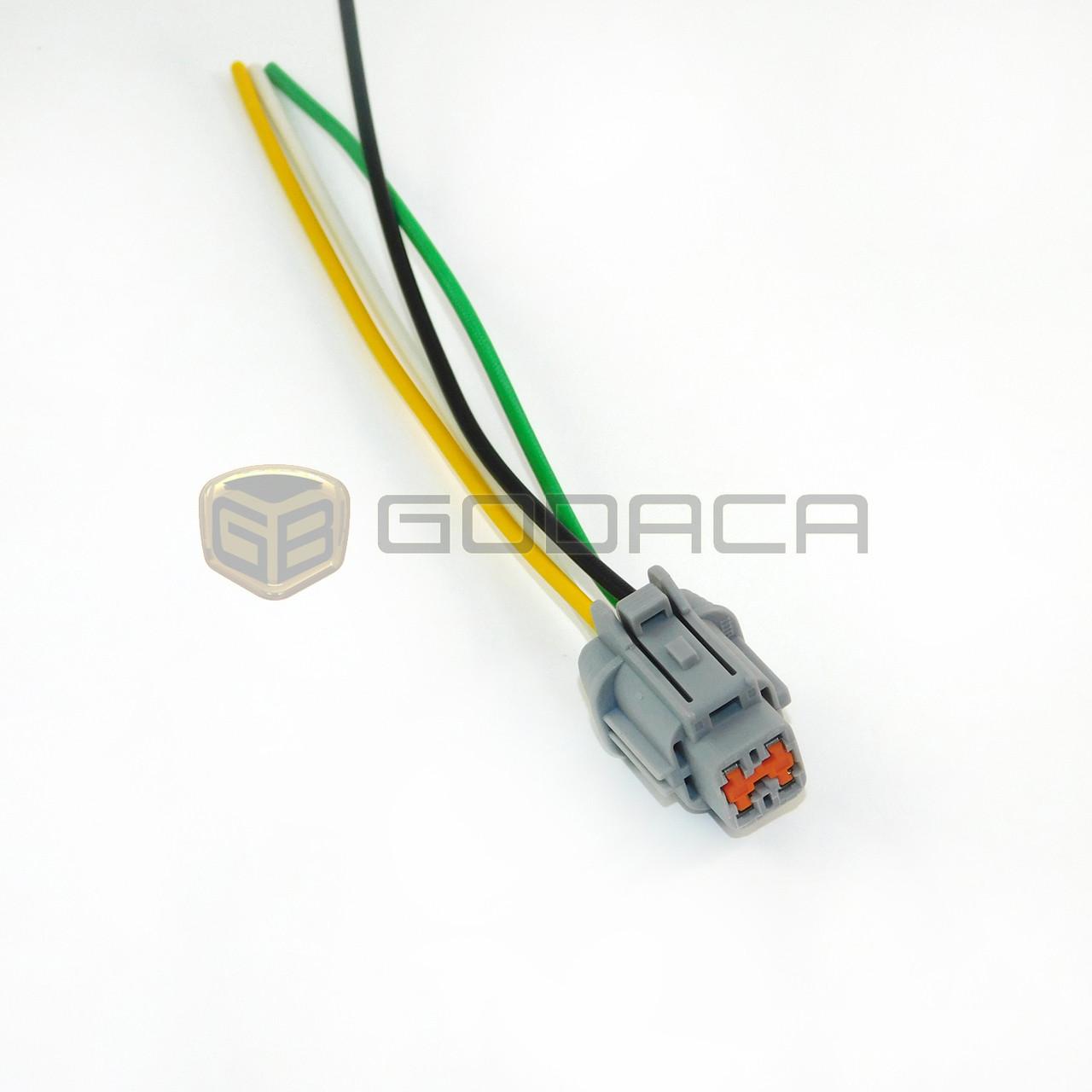 medium resolution of 1 x connector 4 way sensor repair connector wiring harness plug for nissan godaca llc