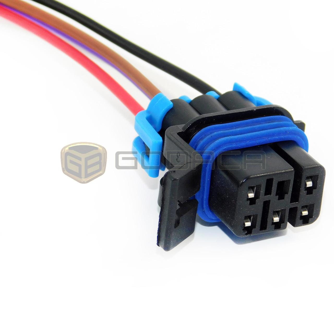 connector fuel pump sensor harness pigtail fpw4 gmc buick pontiac chevrolet godaca llc  [ 1280 x 1280 Pixel ]