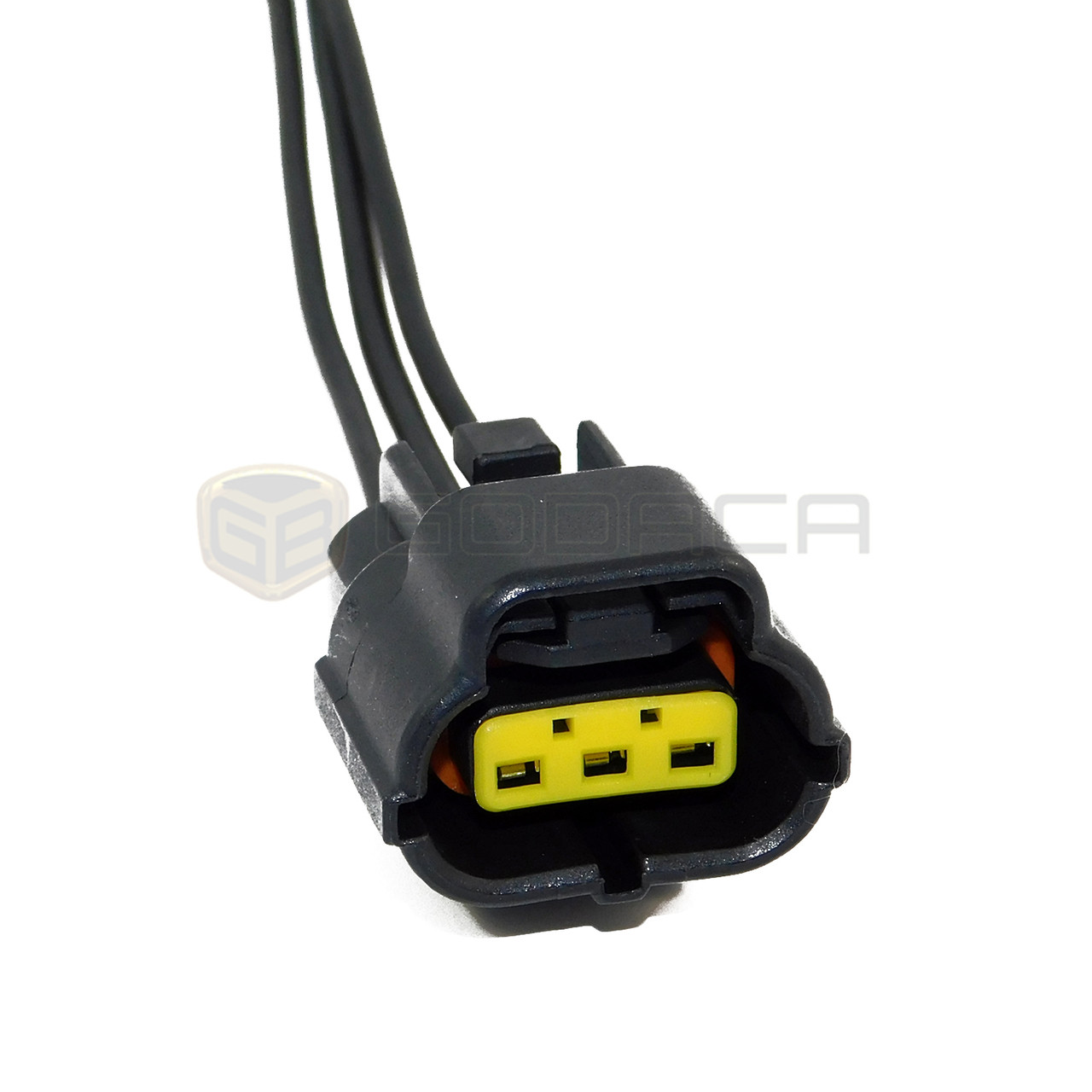 hight resolution of 1 x female connector plug 3 way 3 pin wire denso pigtail harness godaca llc