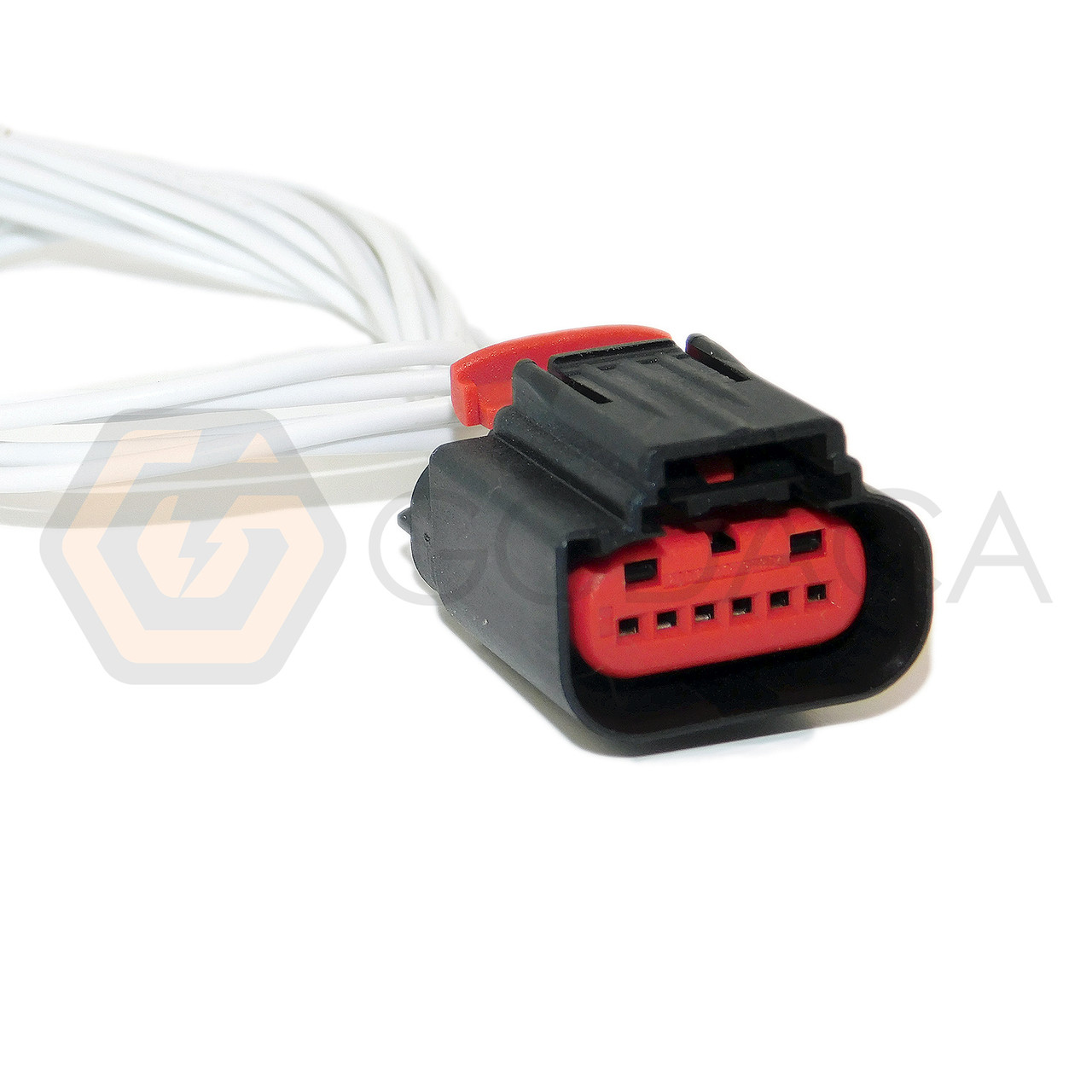 hight resolution of 1x connector 6 way 6 pin for mass air flow sensor ford wpt 1241 godaca llc