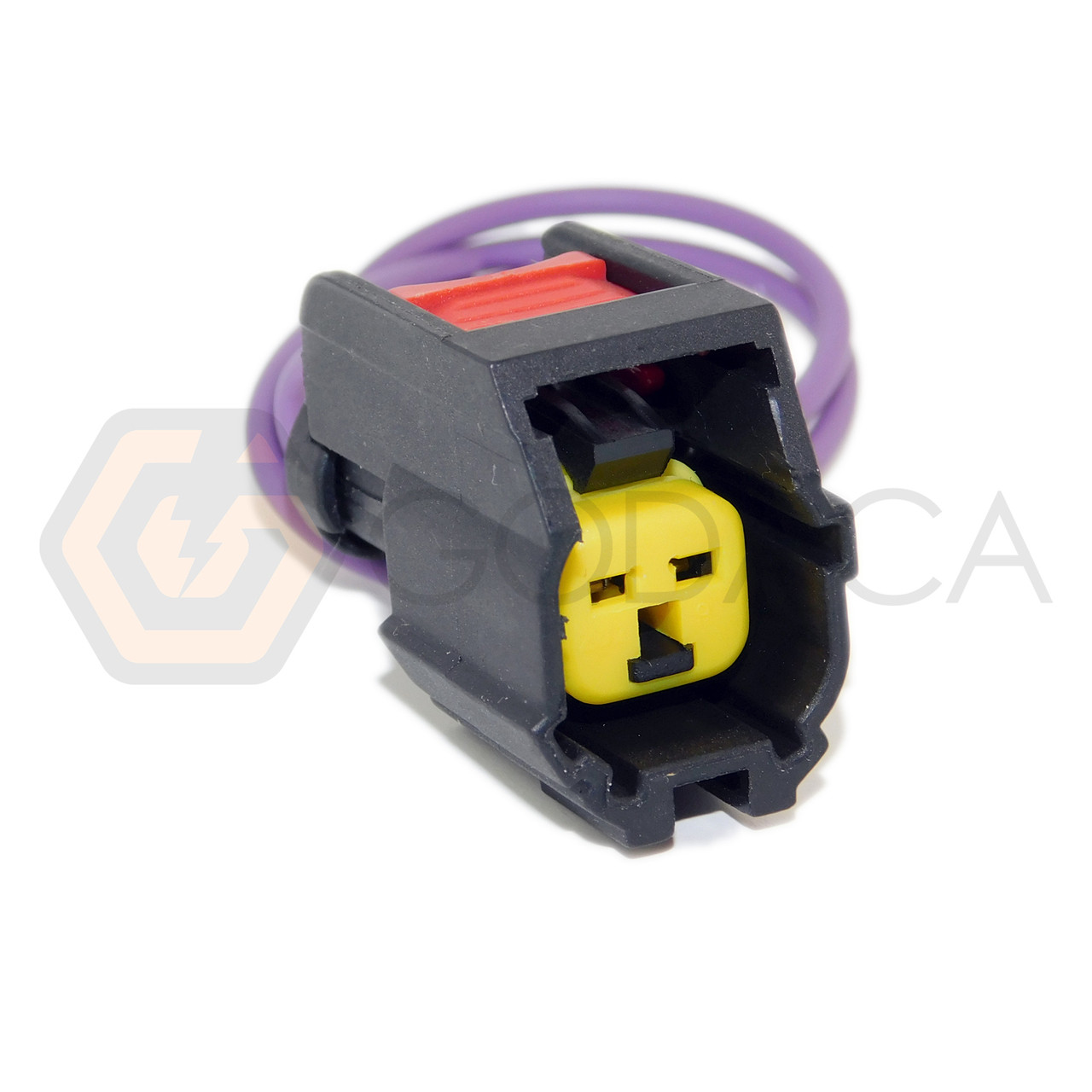 small resolution of 1 x connector pigtail female fuel injector electrical wire harness 2 way godaca llc