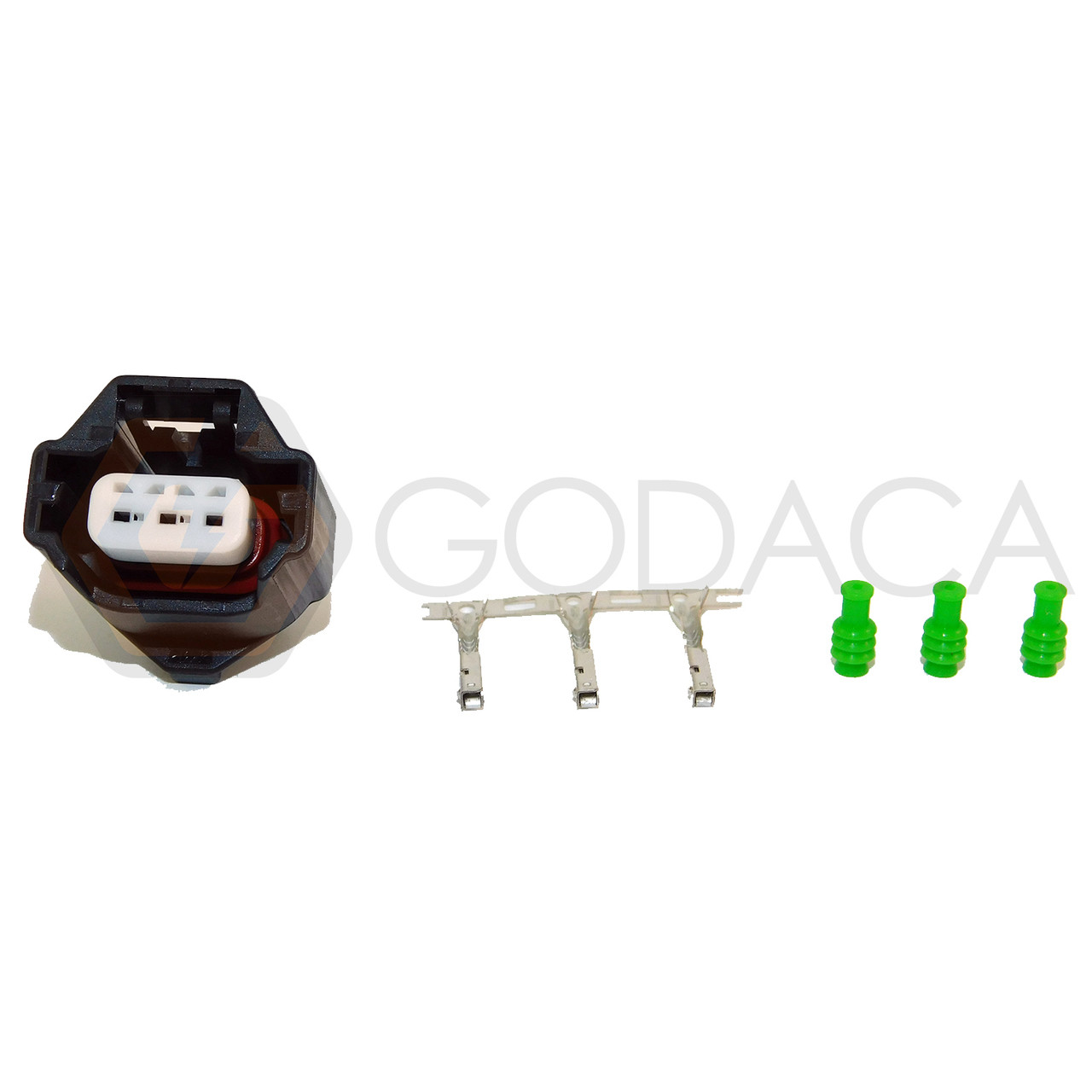 hight resolution of 1x connector 3 way 3 pin for camshaft position sensor cps cps0003 w out wire godaca llc