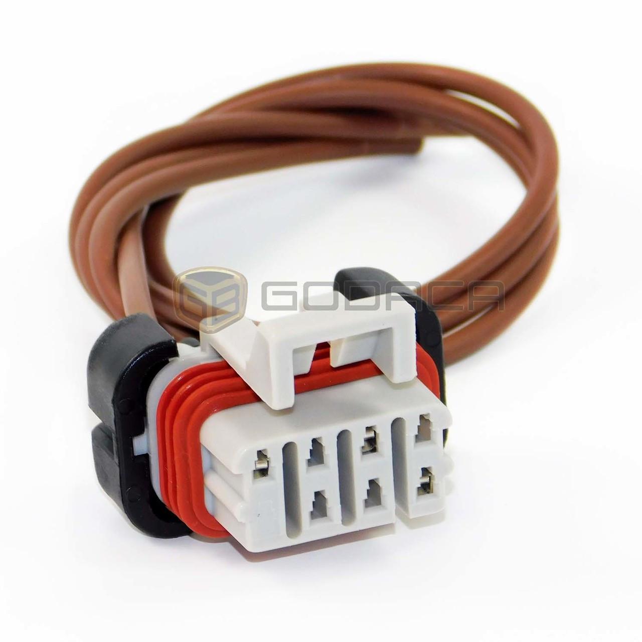 medium resolution of 1x connector 7 way 3 wires for freightliner columbia headlight bulb godaca llc