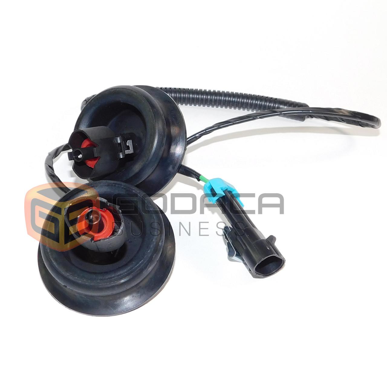 1x harness for engine knock sensor dual connectors grommets cadillac chevy gmc godaca llc  [ 1280 x 1280 Pixel ]