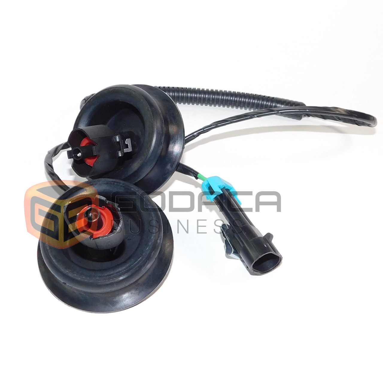 hight resolution of 1x harness for engine knock sensor dual connectors grommets cadillac chevy gmc godaca llc