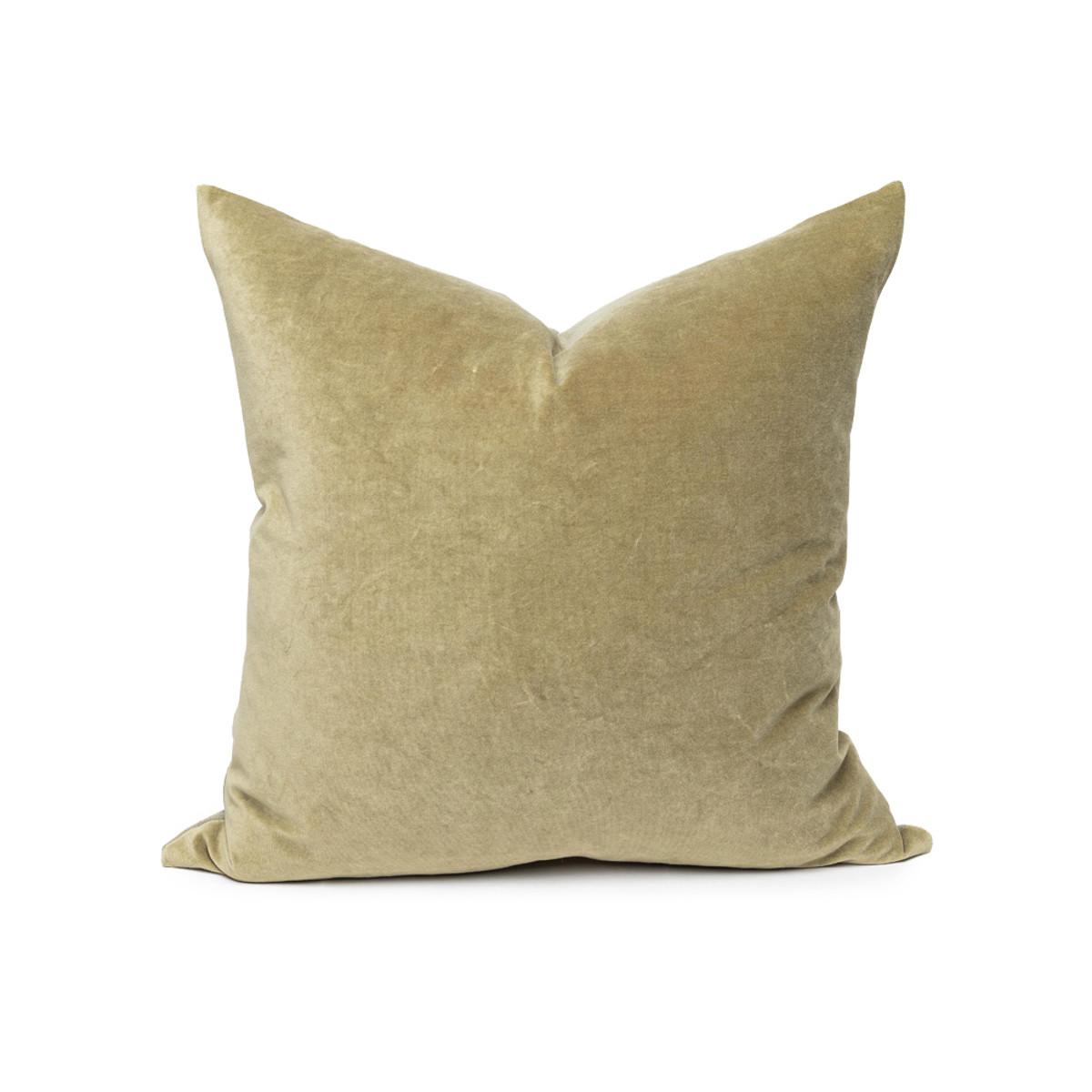 sophie velvet pillow jade
