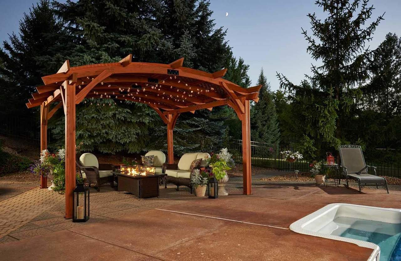 Douglas Fir Vs Redwood Pergola