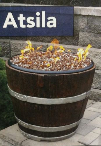 Majestic Fireplaces Gas Fireplaces Atsila Wine Barrel Gas Fire Pit