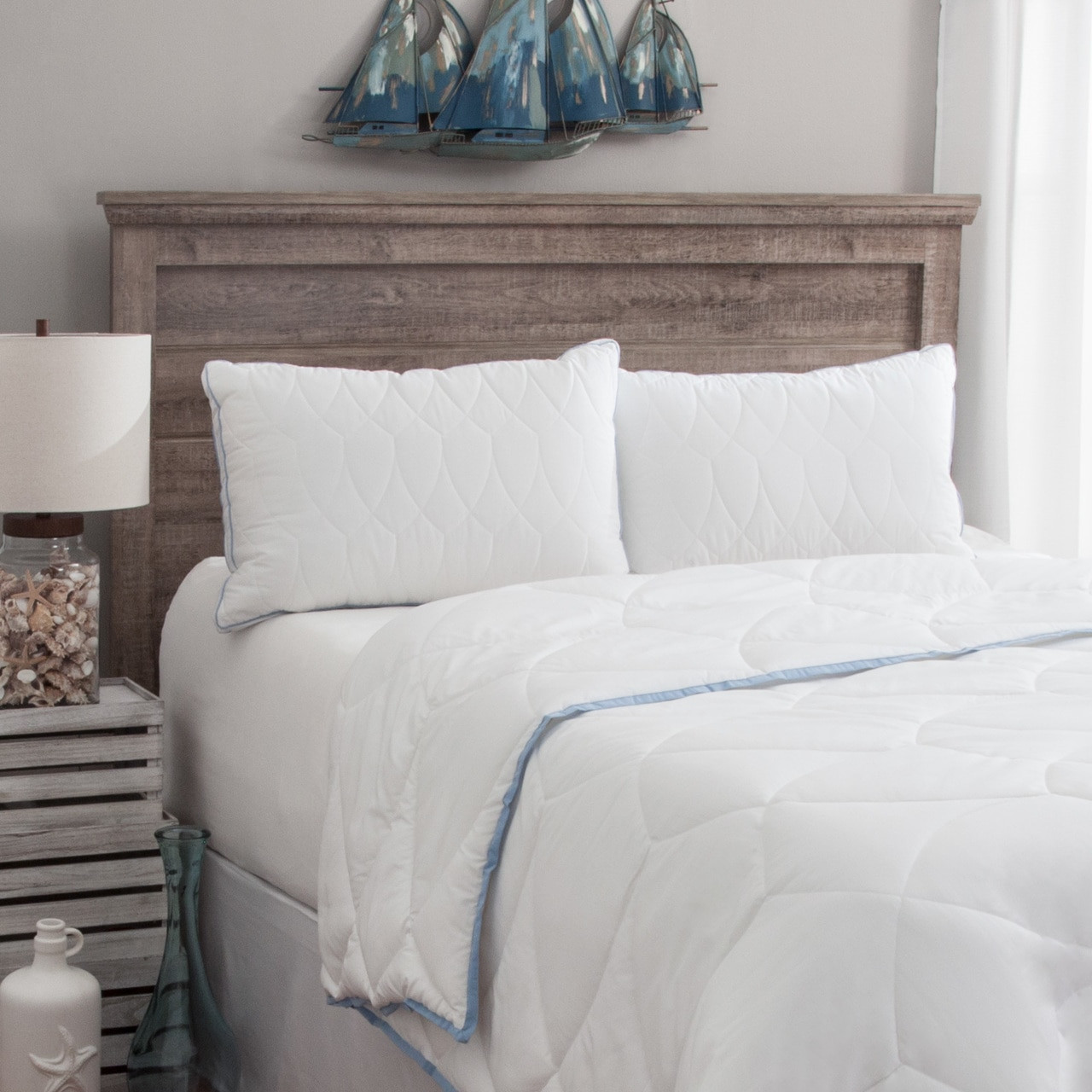 tommy bahama cooling nights 350 tc firm enviroloft pillow