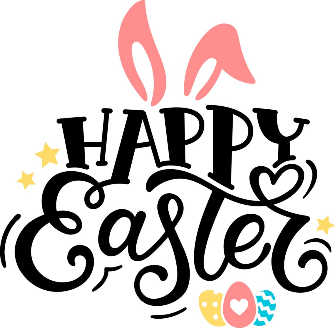 Download Free Happy Easter SVG Cut File | Craftables