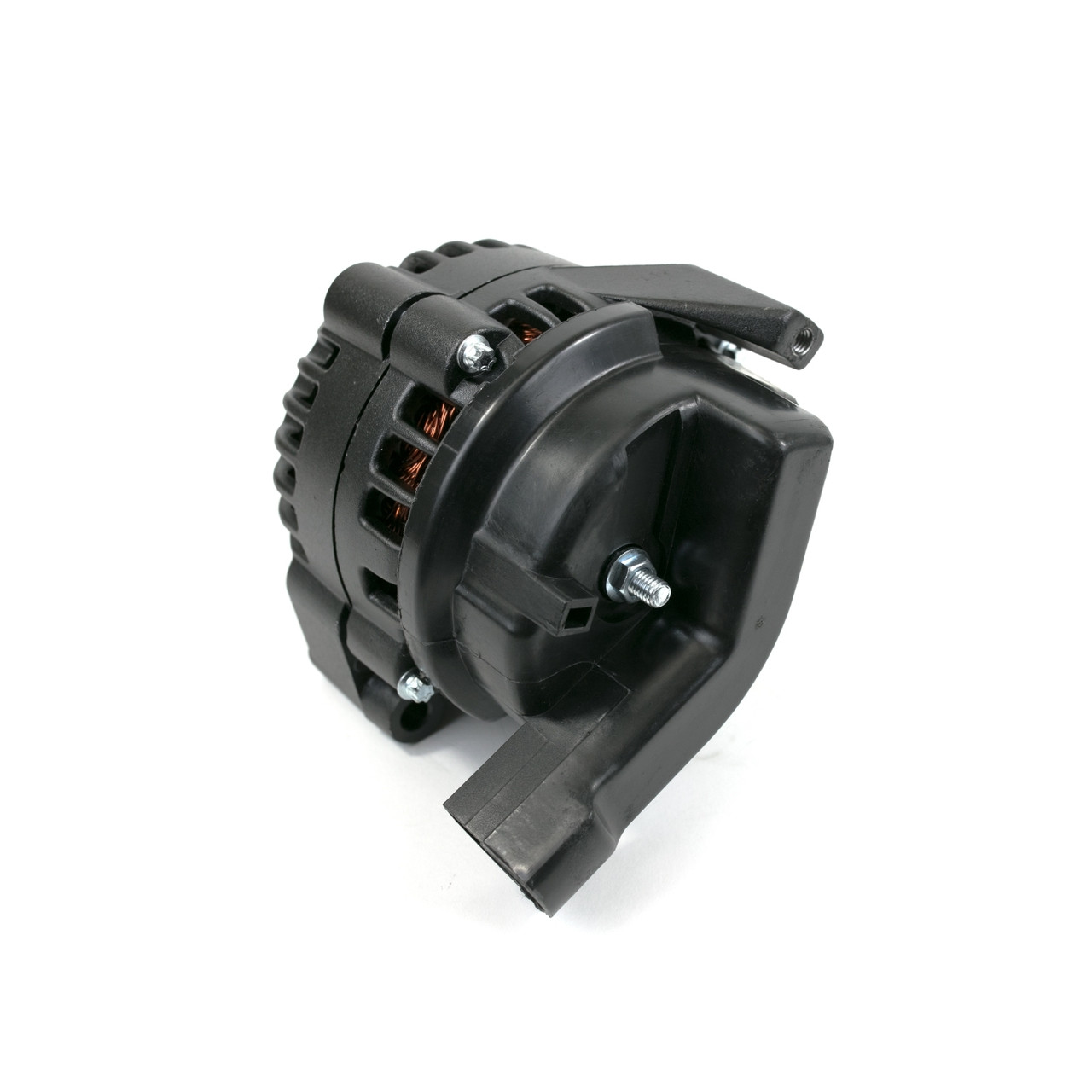 hight resolution of  cs130d style high output 180 amp gm ls car black alternator