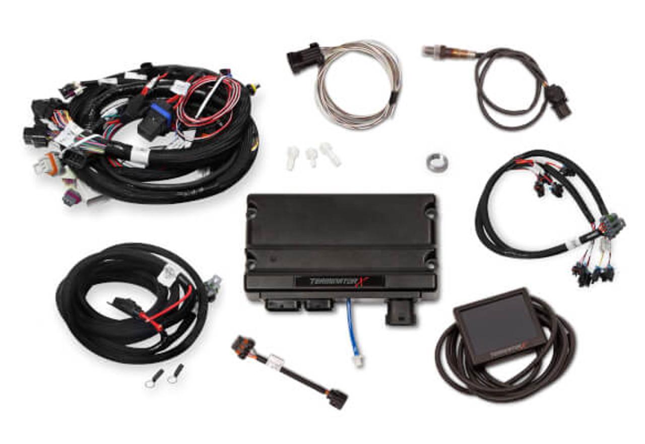 hight resolution of holley terminator x gm ls standalone ecu wire harness 550 905 58x ev6