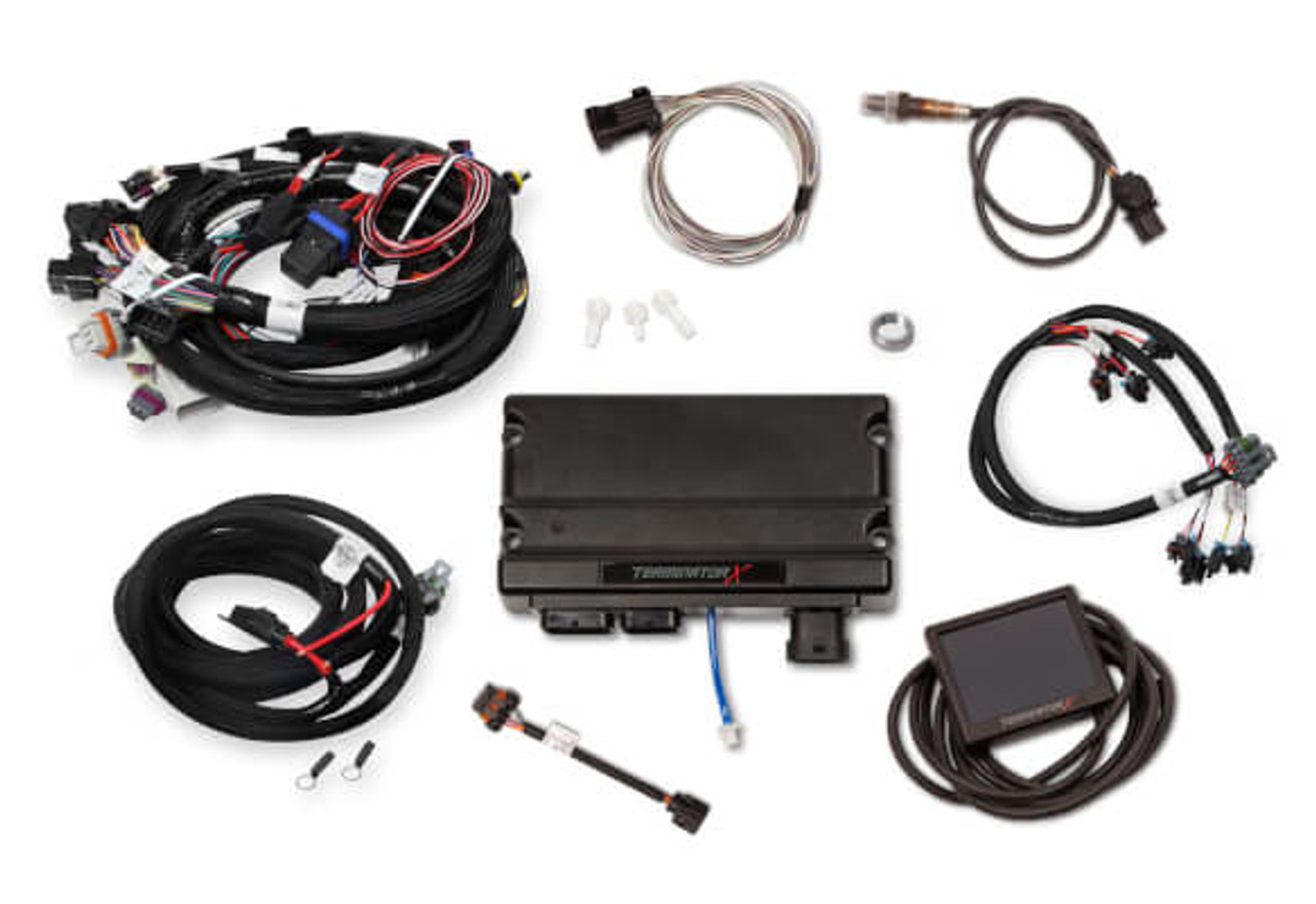 small resolution of holley terminator x gm ls standalone ecu wire harness 550 905 58x ev6