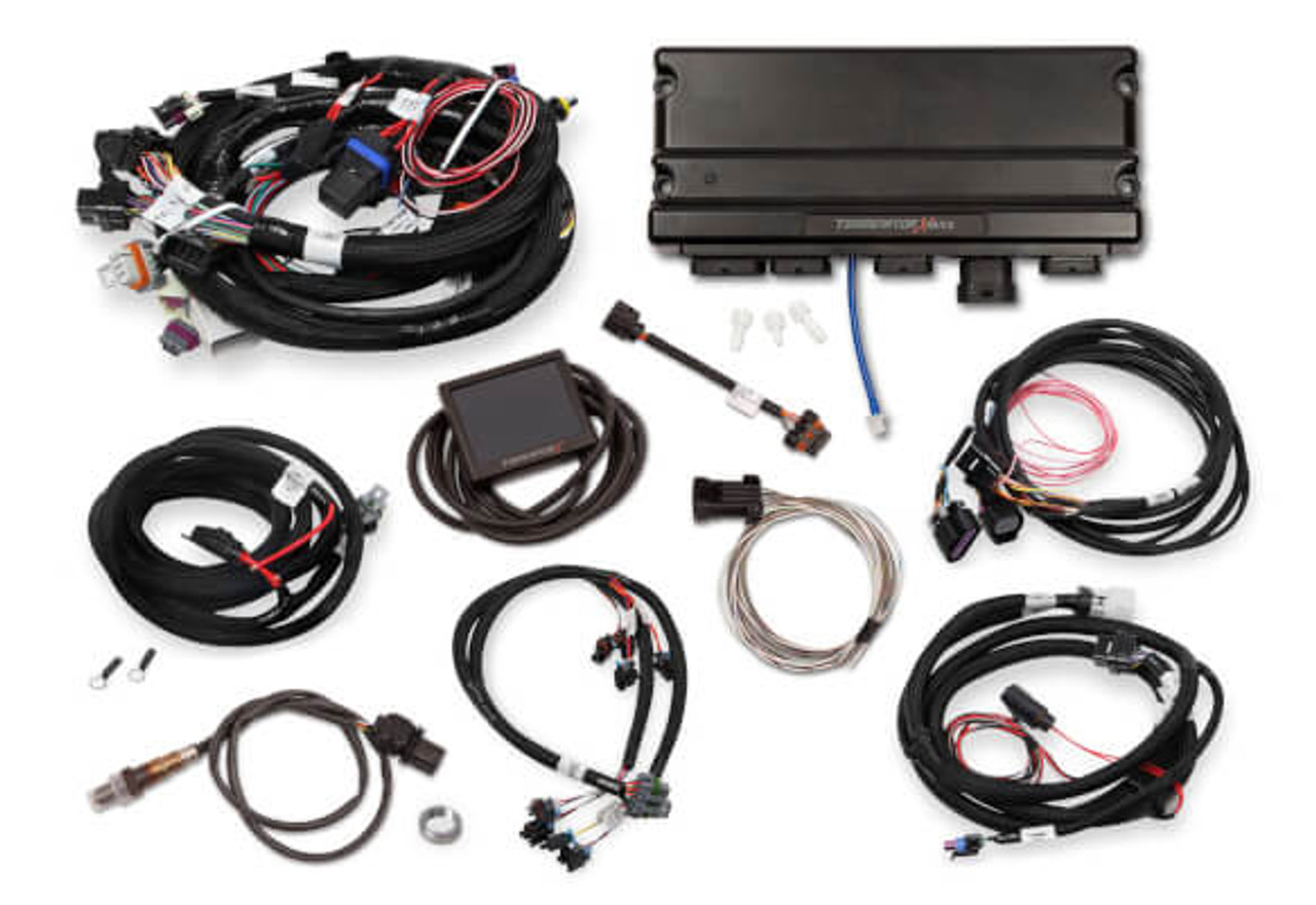 hight resolution of holley terminator x max gm ls standalone ecu wire harness 550 927 24x