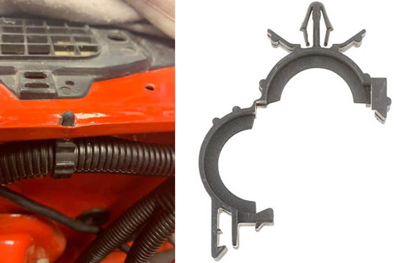 hight resolution of 1967 1981 camaro firebird wire loom retainer