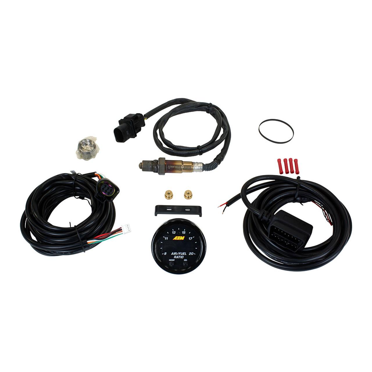 aem 30 0334 x series wideband uego afr sensor controller gauge kit [ 1000 x 1000 Pixel ]