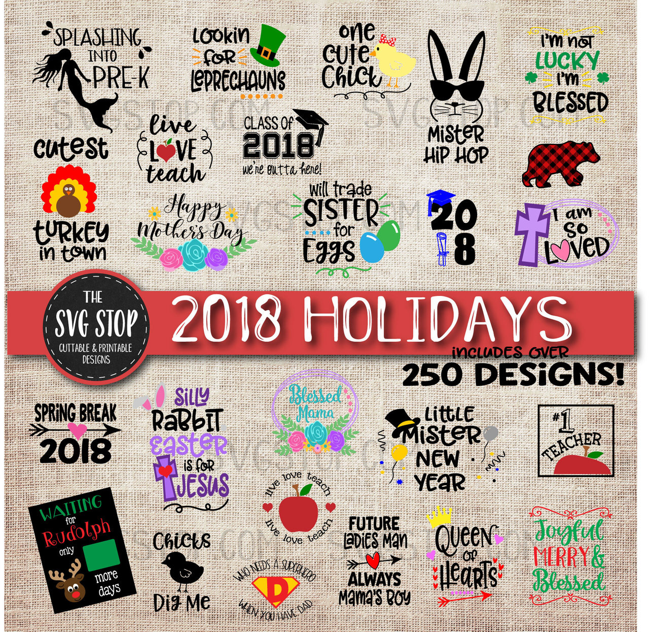 small resolution of holiday svg bundle all occasions st patricks day easter christmas july 4th