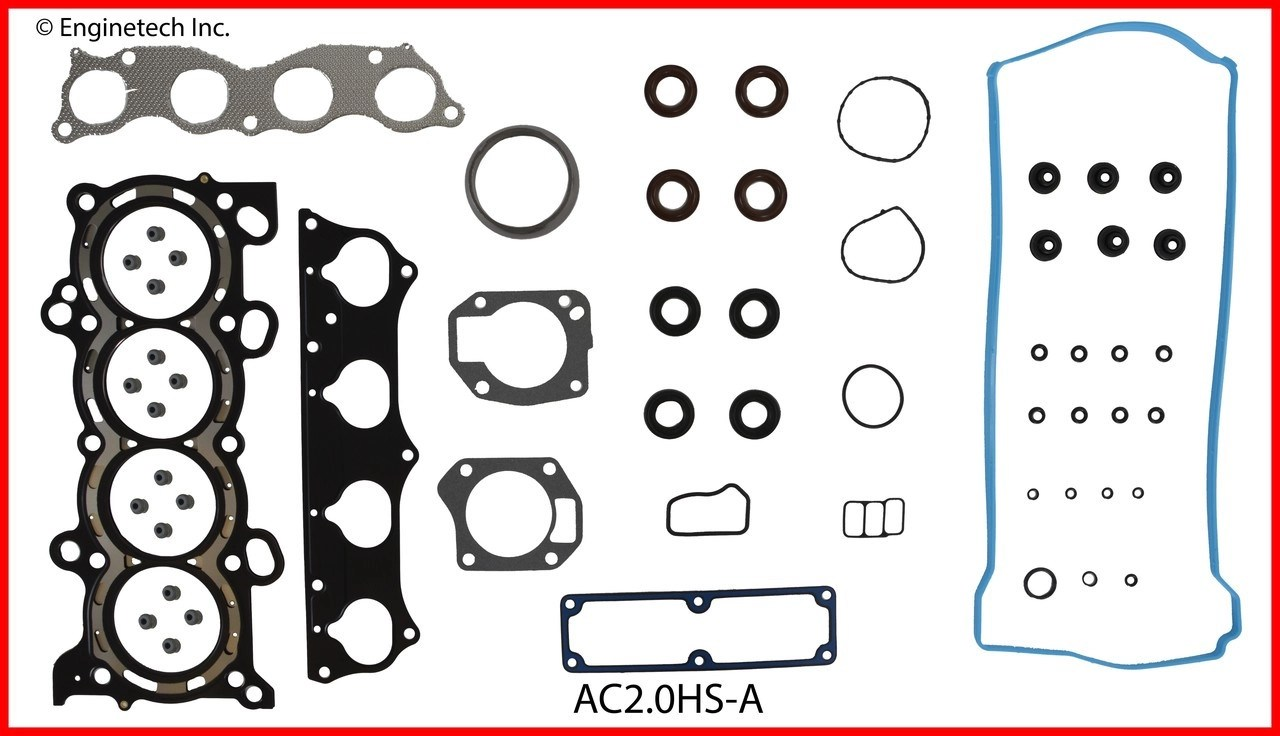 medium resolution of 2004 acura rsx 2 0l engine cylinder head gasket set ac2 0hs a 3 head and brain diagram rsx head diagram